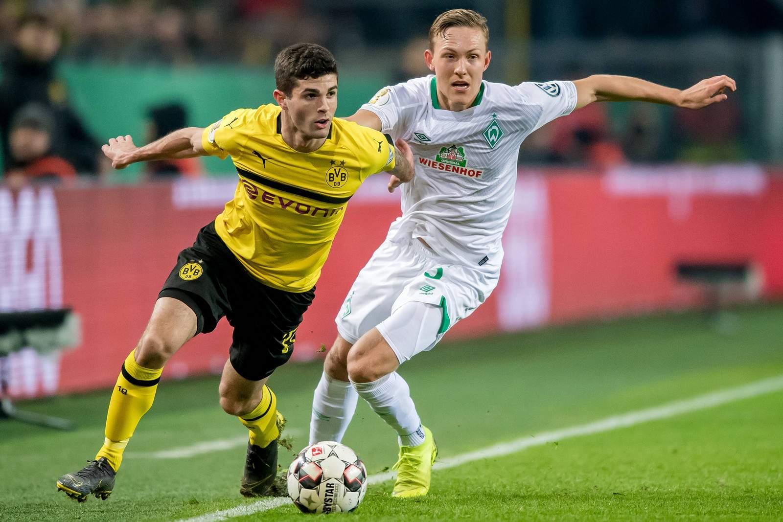 Kann Christian Pulisic gegen Werder Revanche für das Pokal-Aus nehmen? Jetzt auf Bremen gegen BVB wetten!