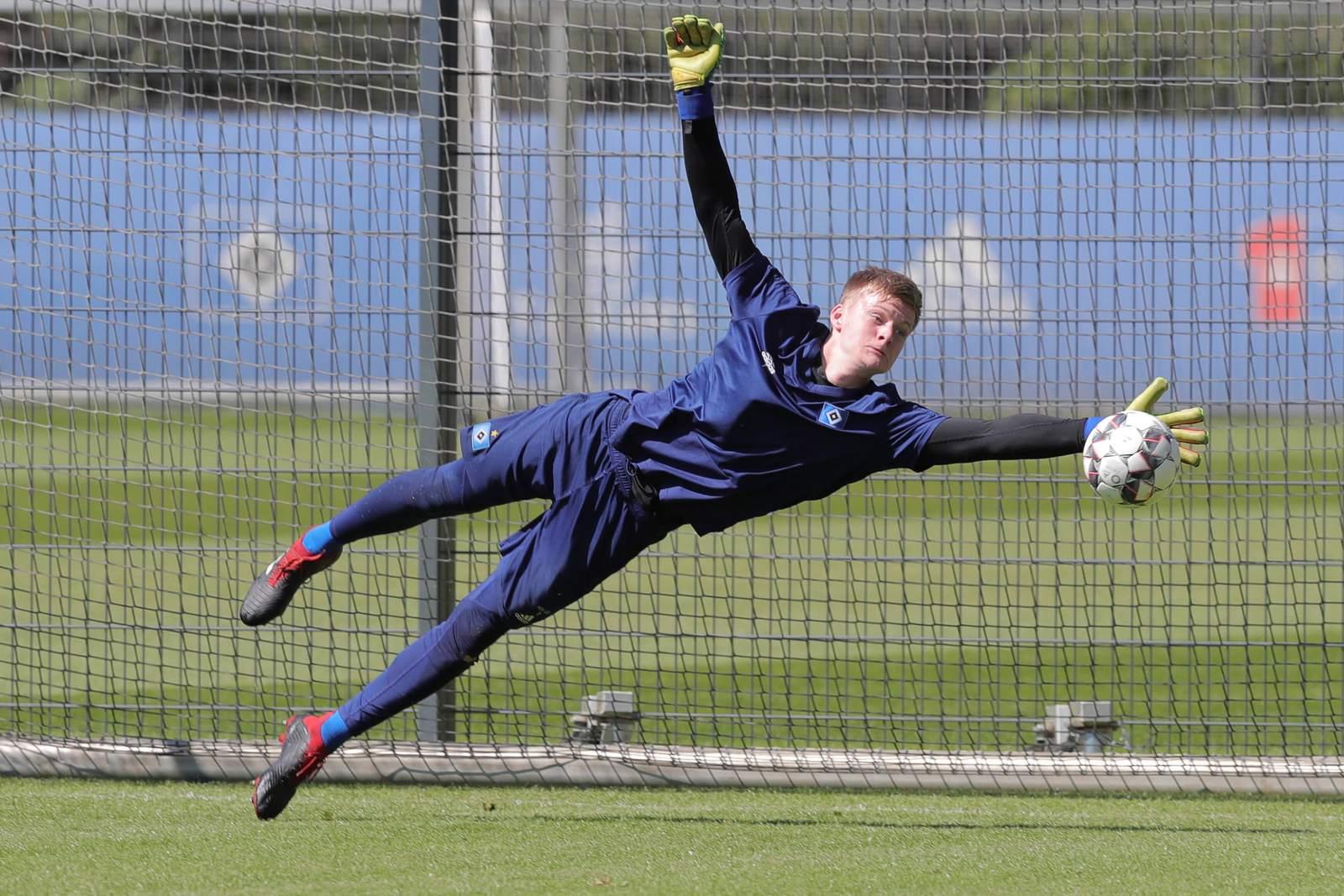 Jakob Golz vom HSV