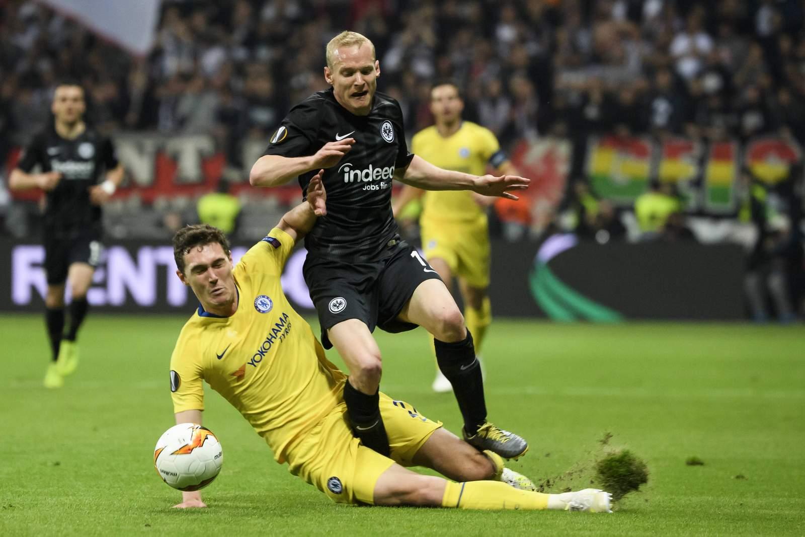 Kann Sebastian Rode mit Frankfurt die Hürde Chelsea nehmen? Jetzt auf Chelsea gegen Frankfurt wetten!