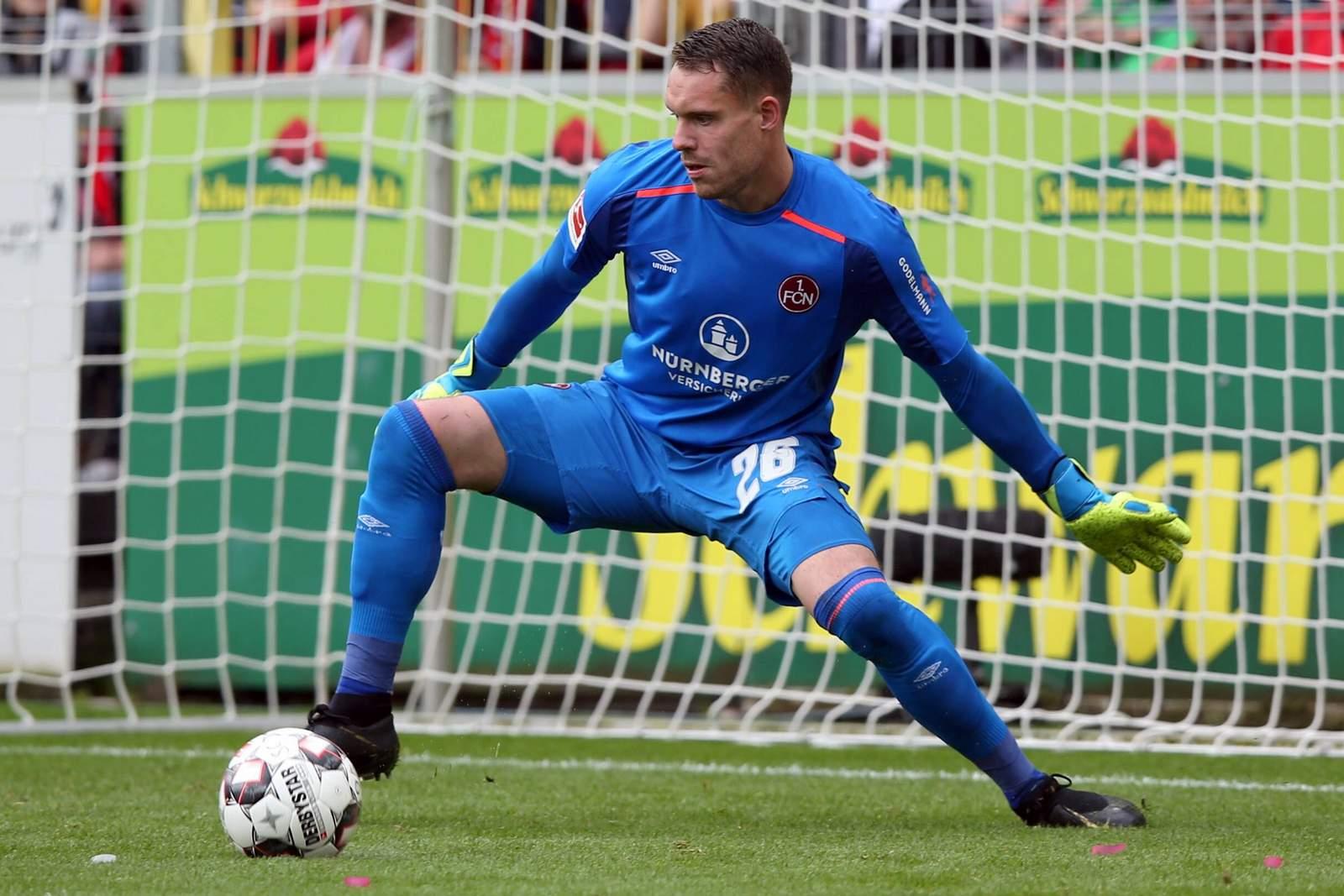 Christian Mathenia vom 1. FC Nürnberg