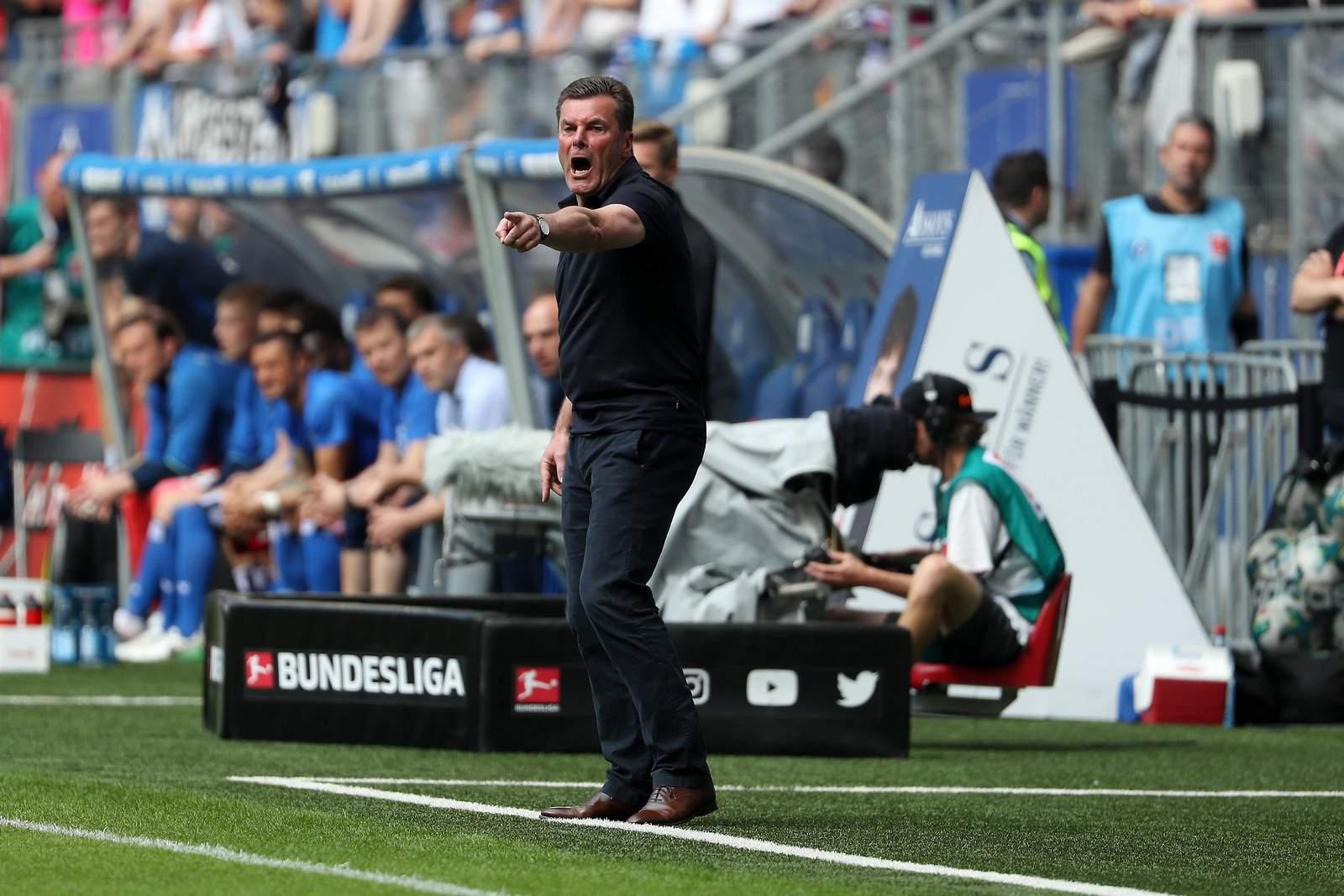 Dieter Hecking vom HSV