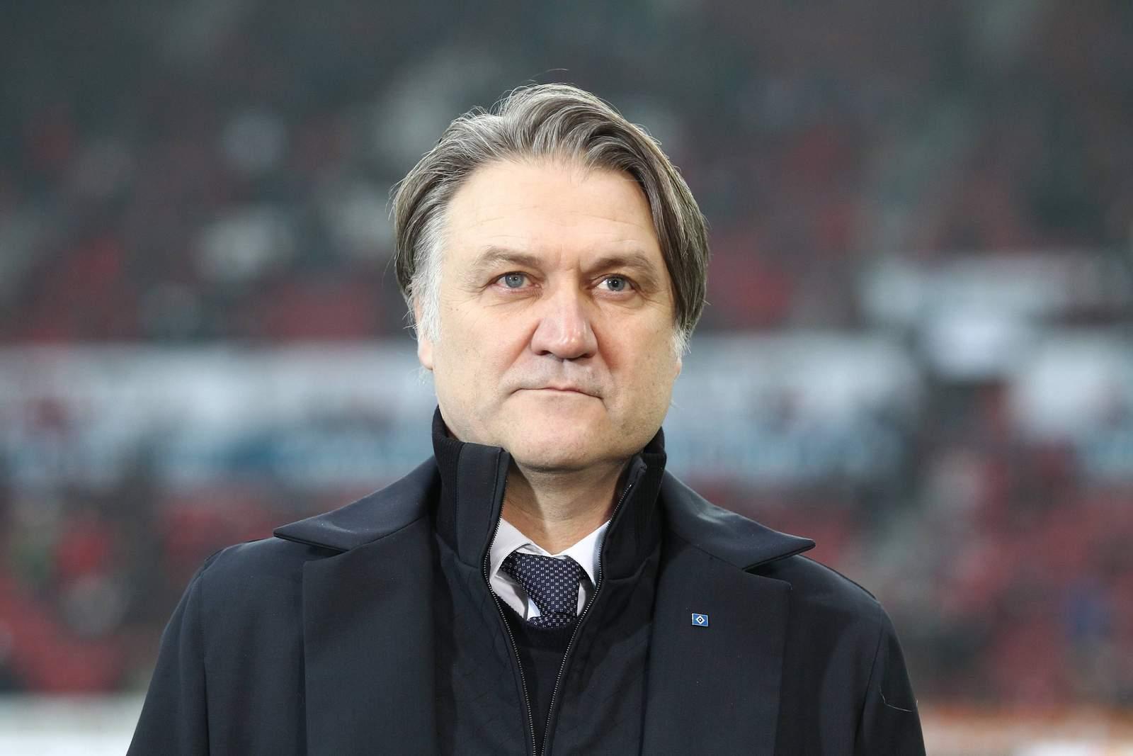 Dietmar Beiersdorfer in seiner Zeit beim HSV
