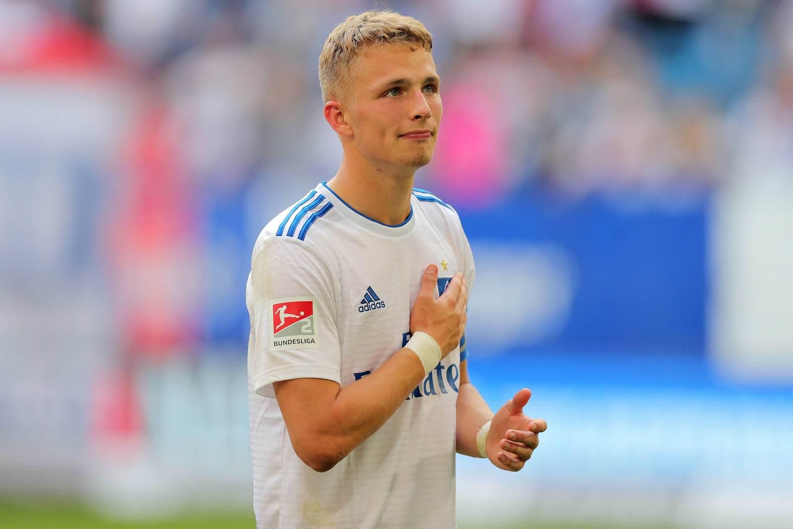 Jann-Fiete Arp als Spieler des Hamburger SV