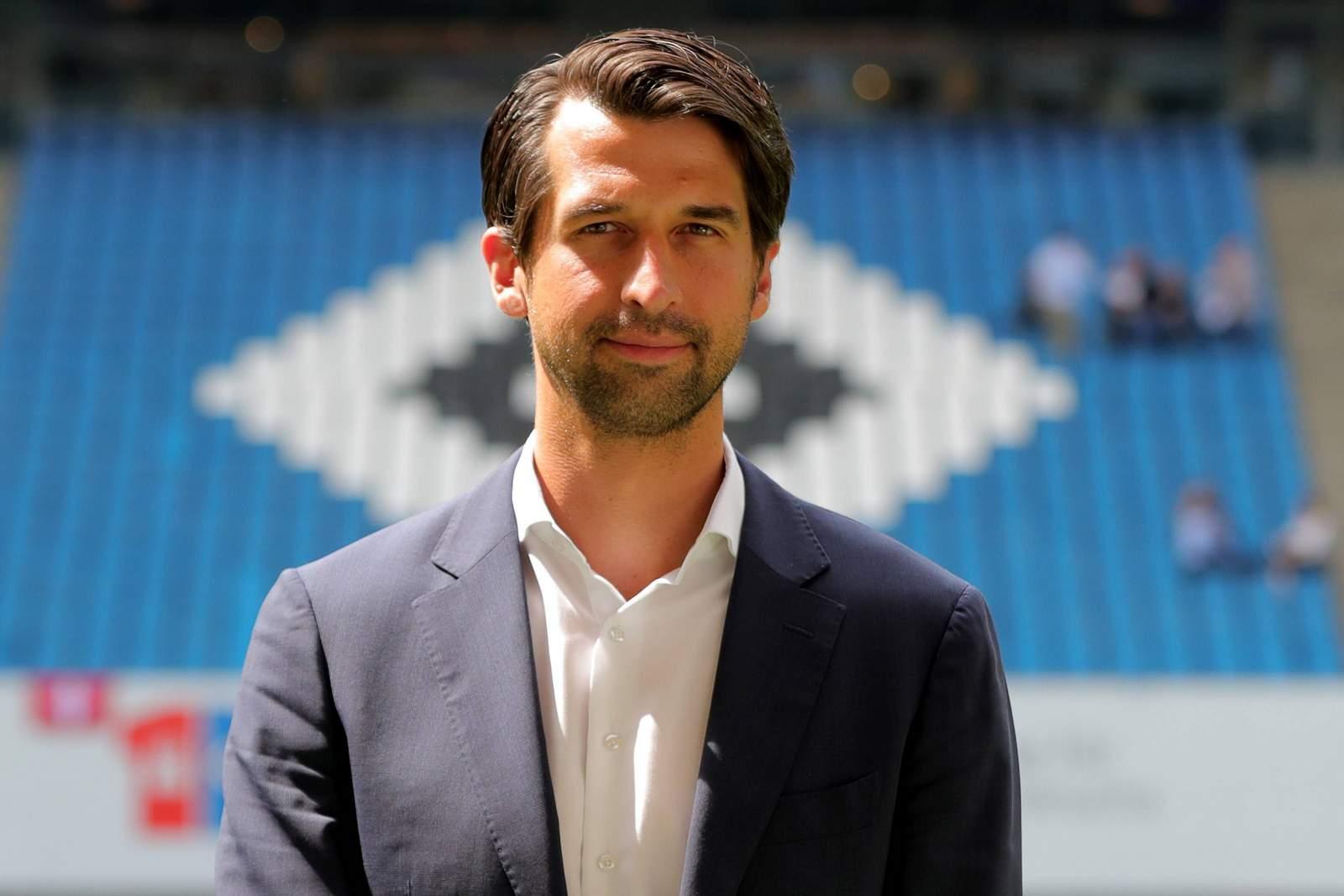 Sportvorstand Jonas Boldt vom HSV