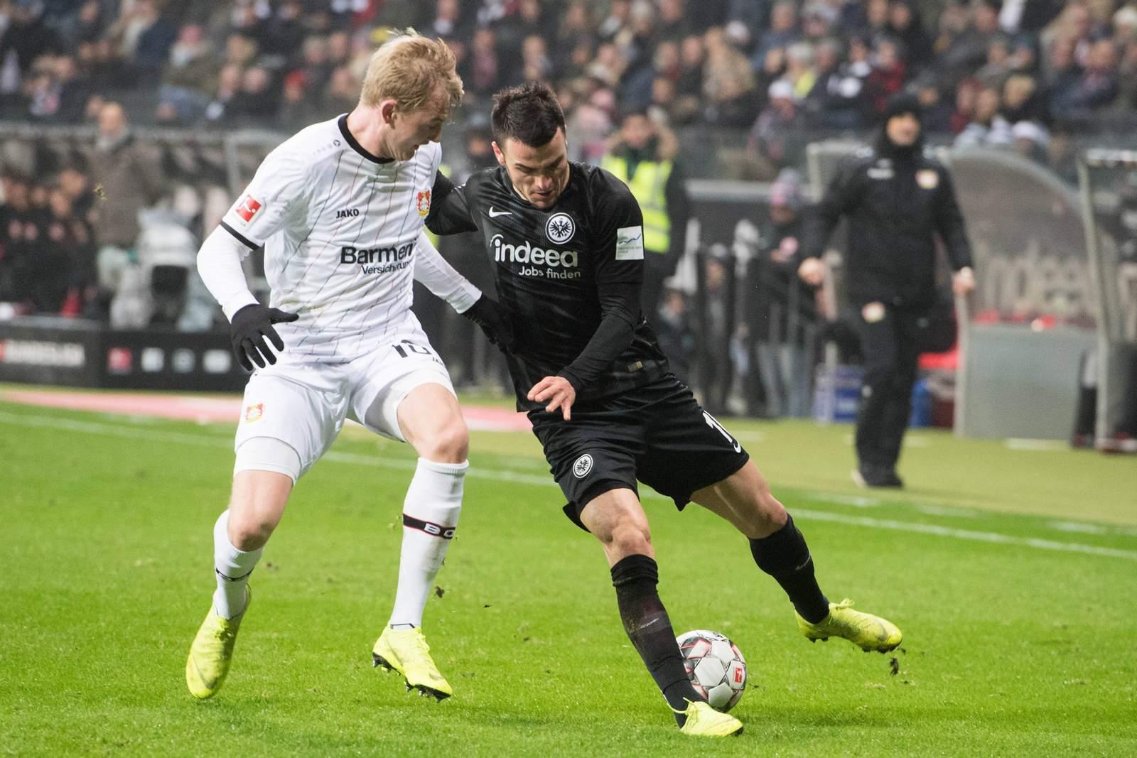 Kann Julian Brandt mit Leverkusen gegen Frankfurt die Chance auf die Königsklasse wahren? Jetzt auf Leverkusen gegen Frankfurt wetten!