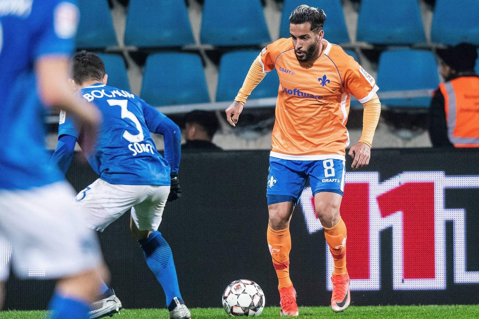 Selim Gündüz im Spiel gegen Bochum