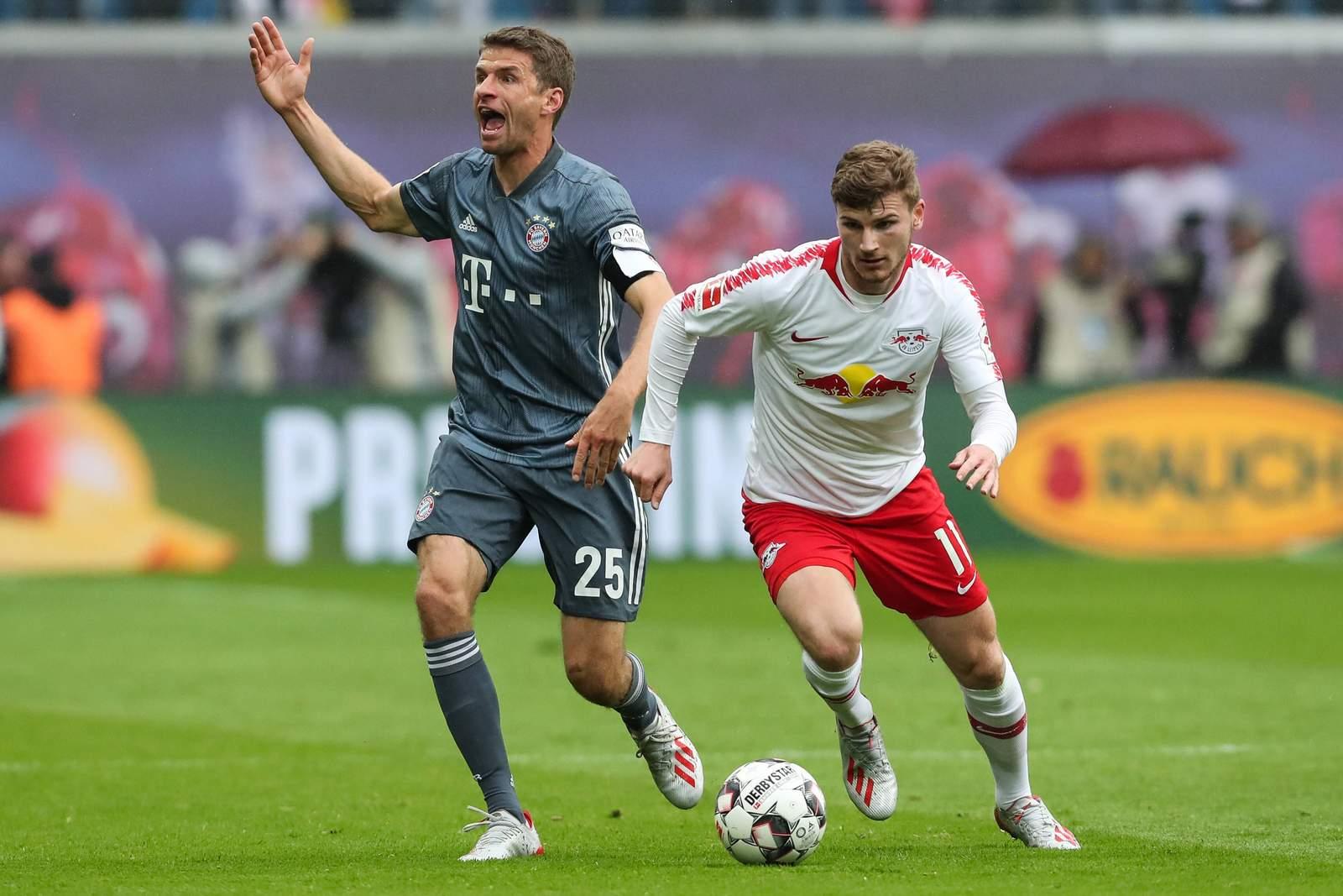 Setzt sich Werner gegen Müller durch? Jetzt auf Red Bull Leipzig gegen Bayern wetten