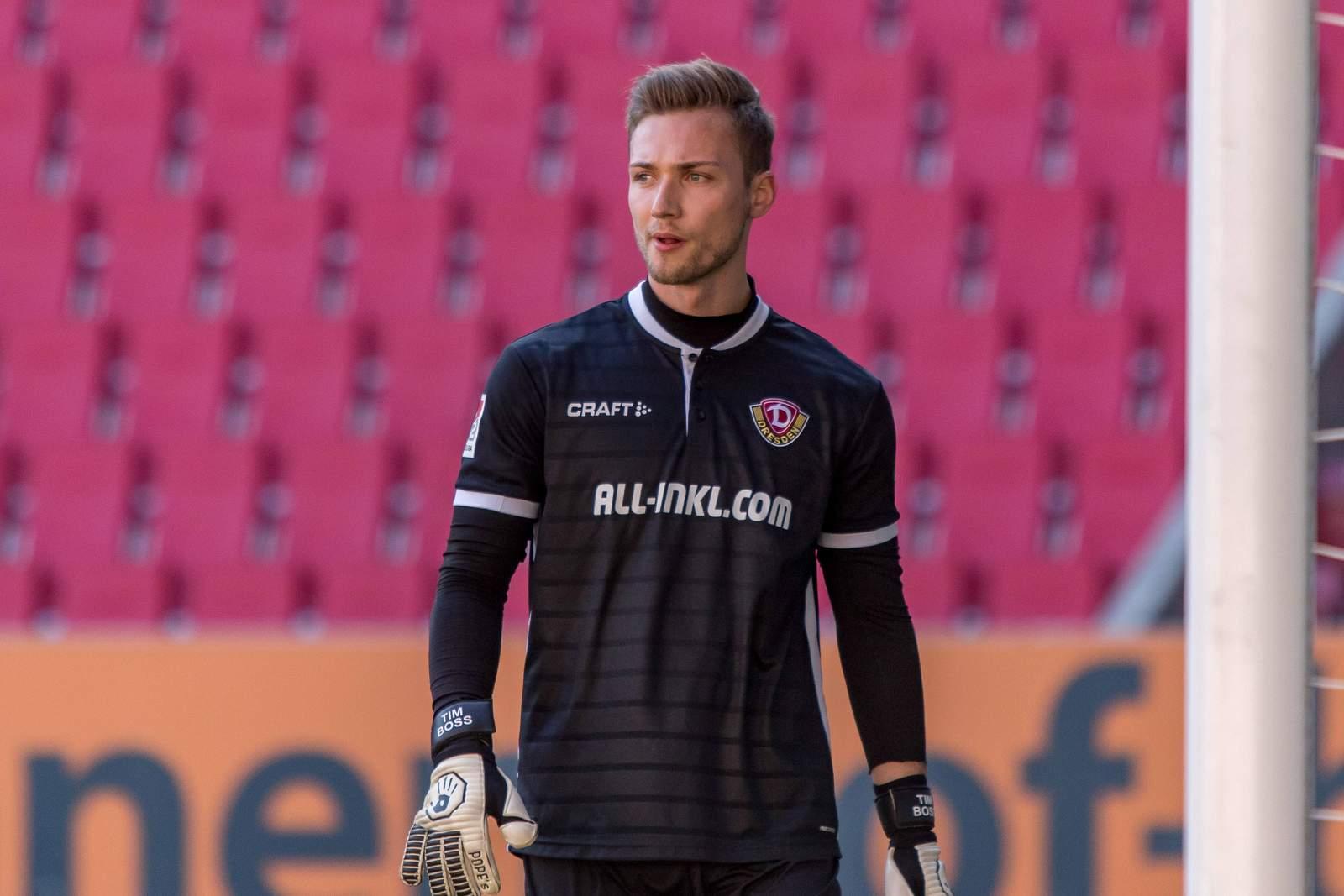 Tim Boss im Einsatz für Dynamo.