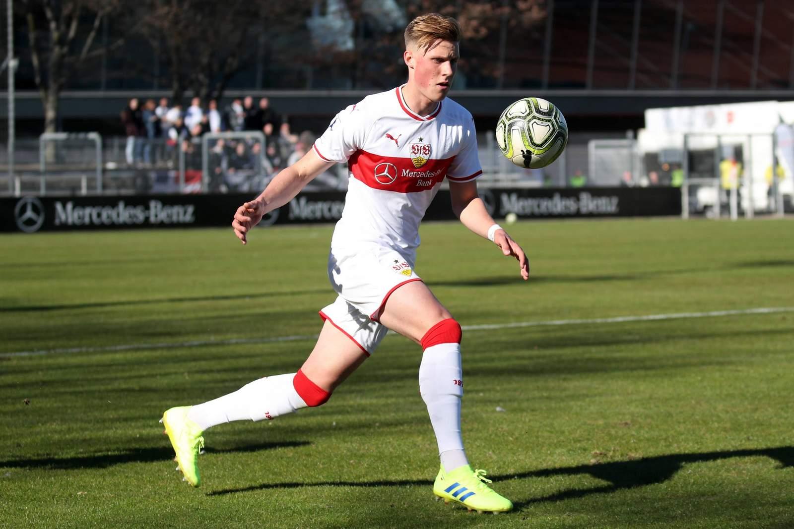 Oliver Wähling von der U23 des VfB Stuttgart