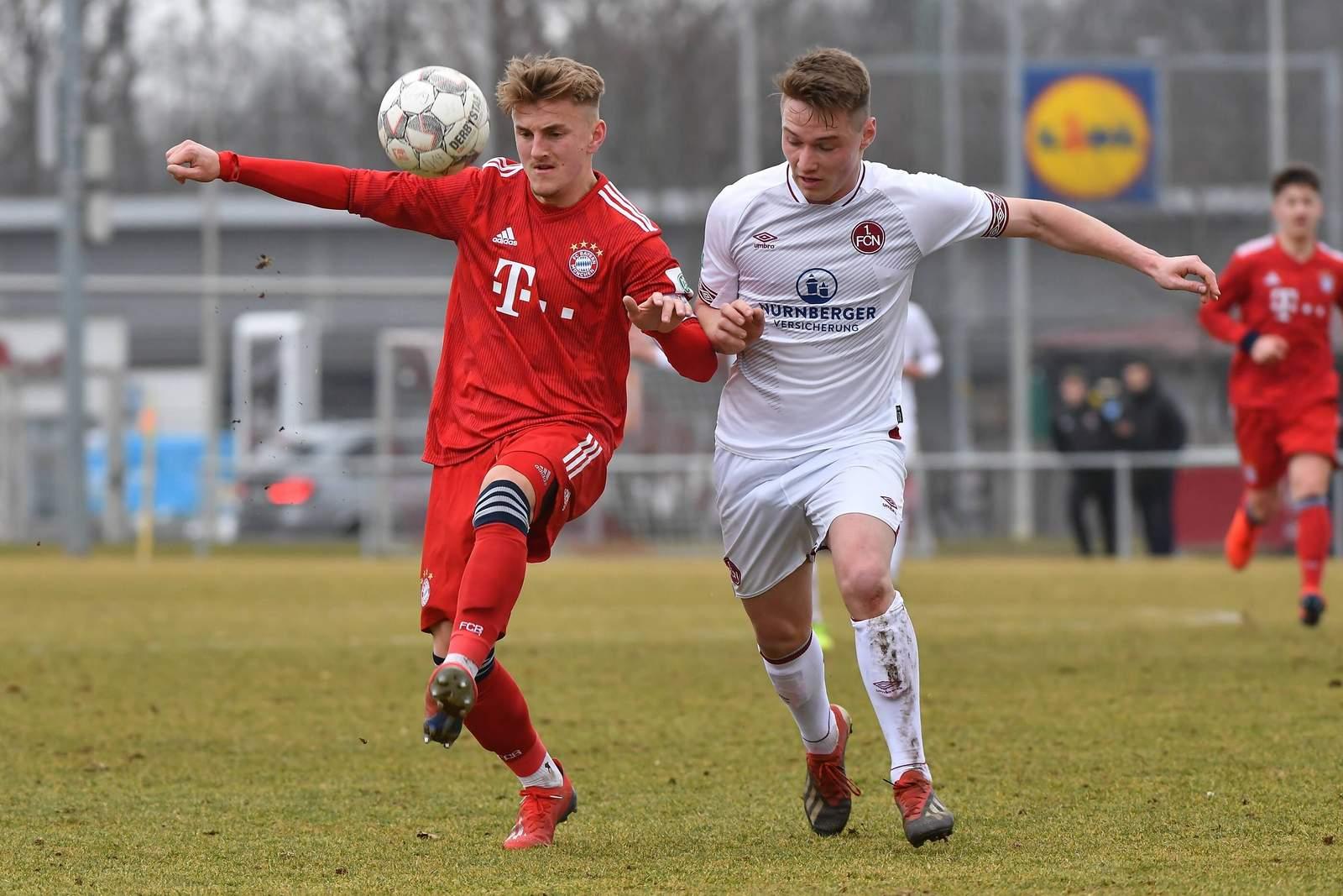 Alexander Lungwitz (l.) im Trikot des FC Bayen.