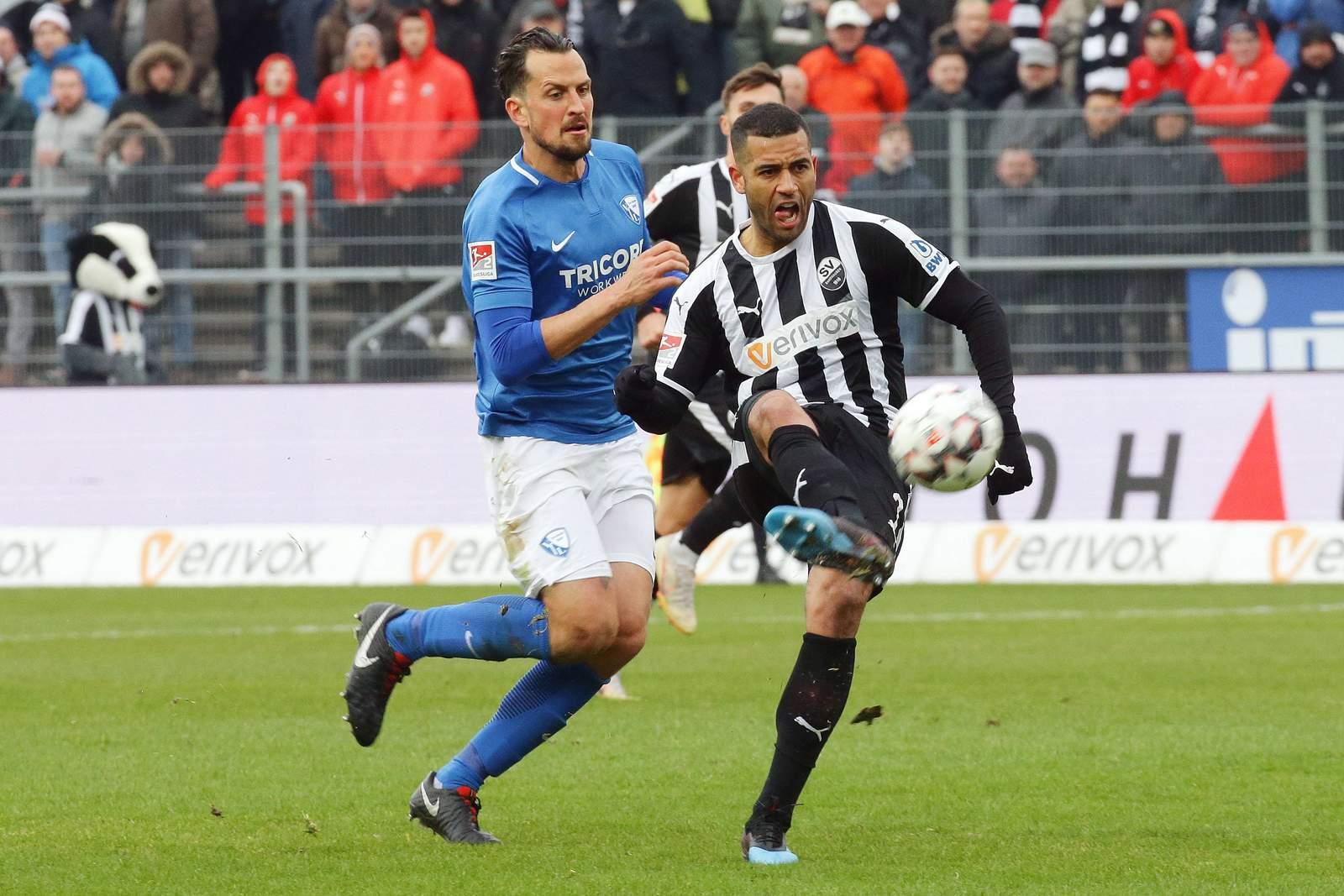 Andrew Wooten gegen Bochum.