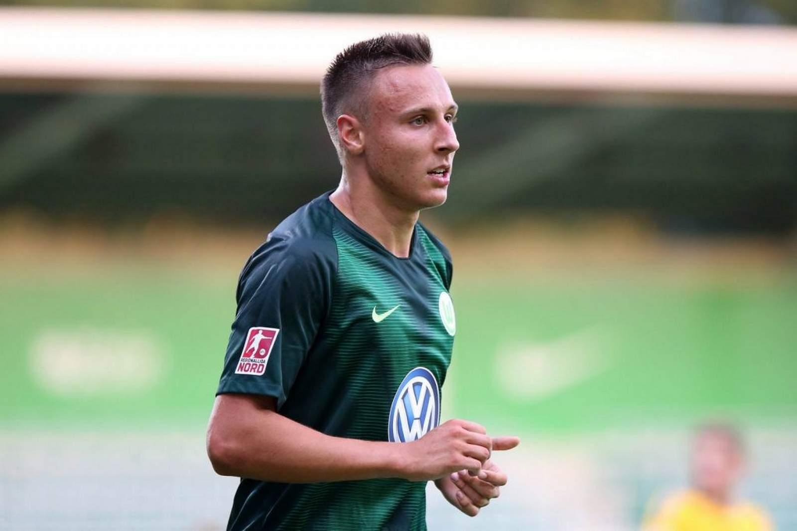 Dominik Franke bei der U23 des VfL Wolfsburg