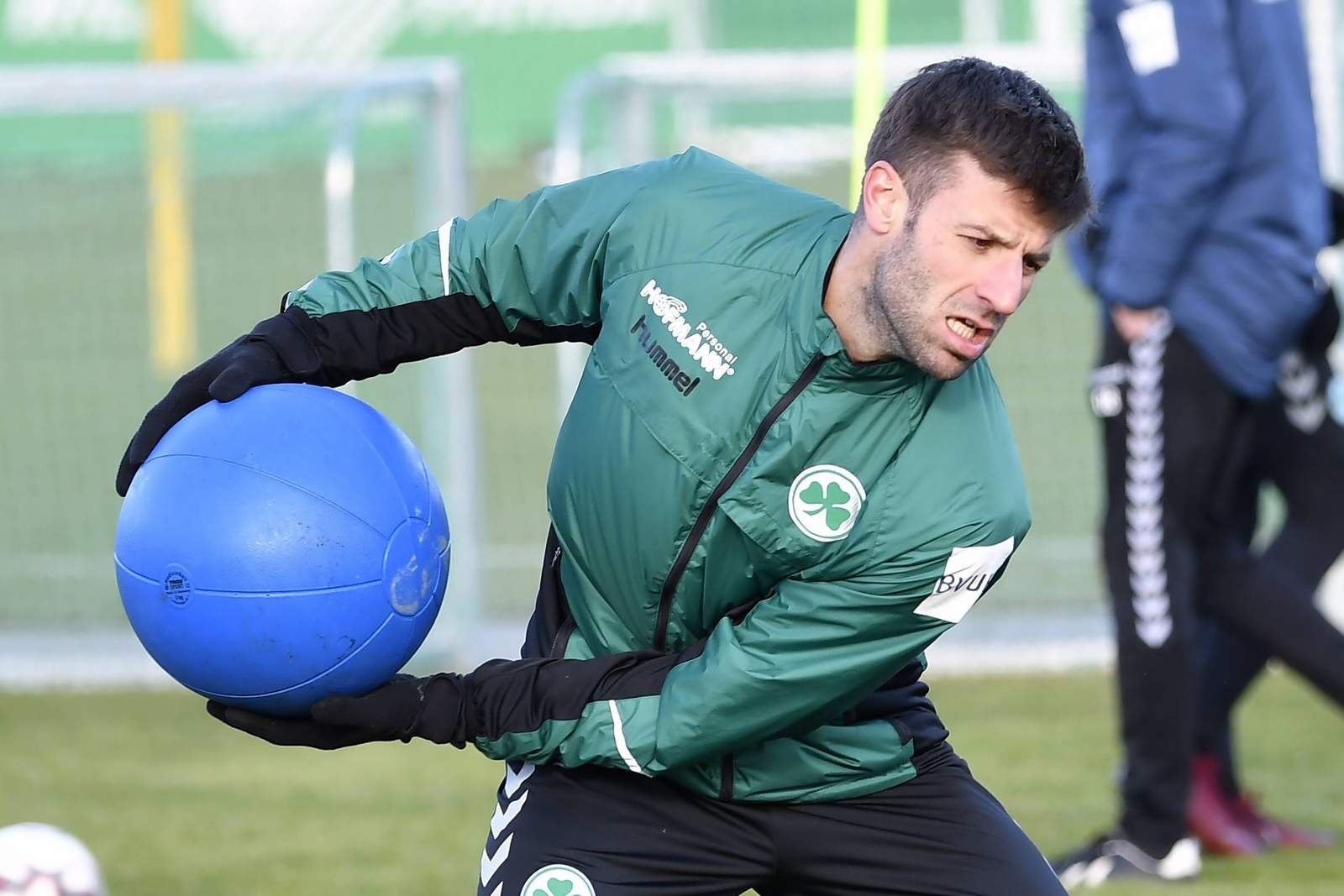Marco Caligiuri im Training.