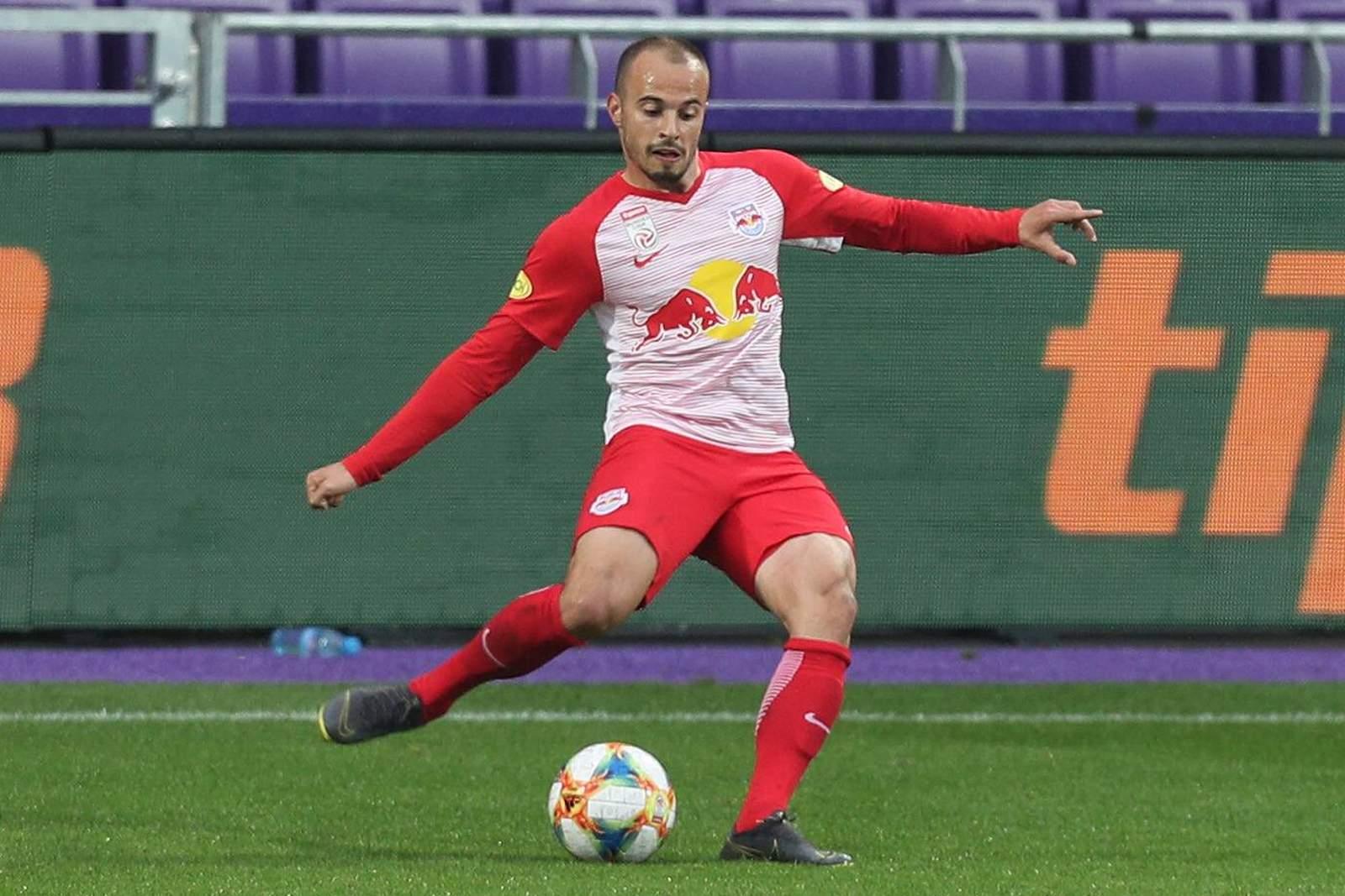 Darko Todorovic im Trikot von RB Salzburg