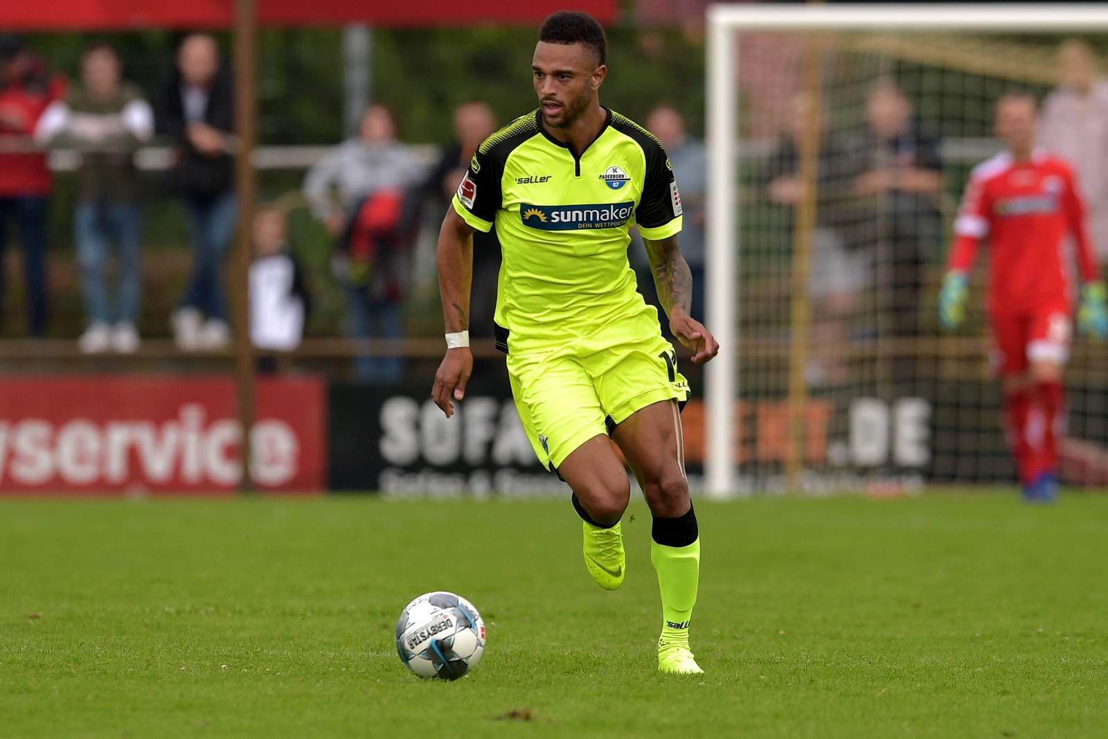 Khiry Shelton vom SC Paderborn