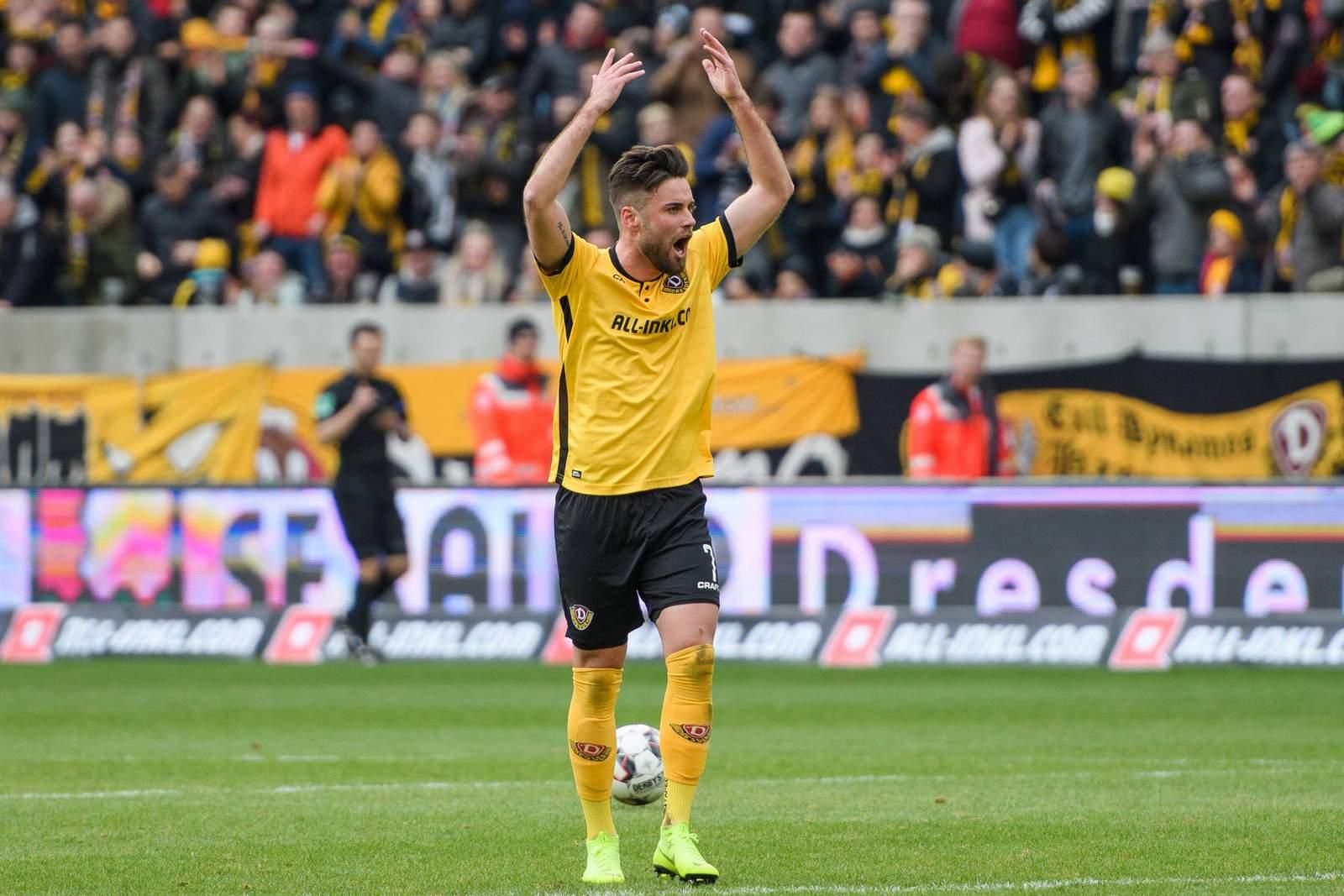 Niklas Kreuzer bei Dynamo Dresden