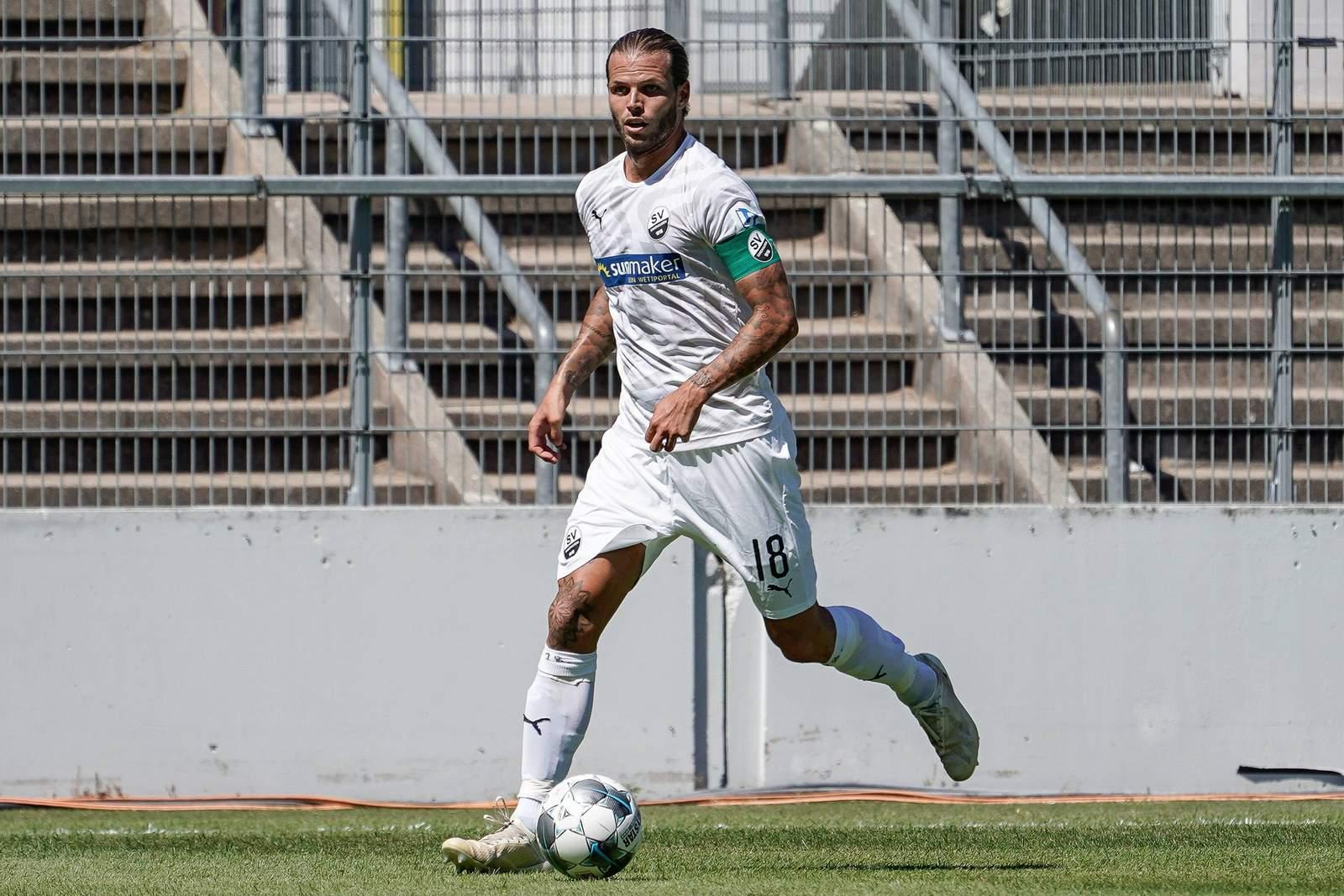 Dennis Diekmeier vom SV Sandhausen