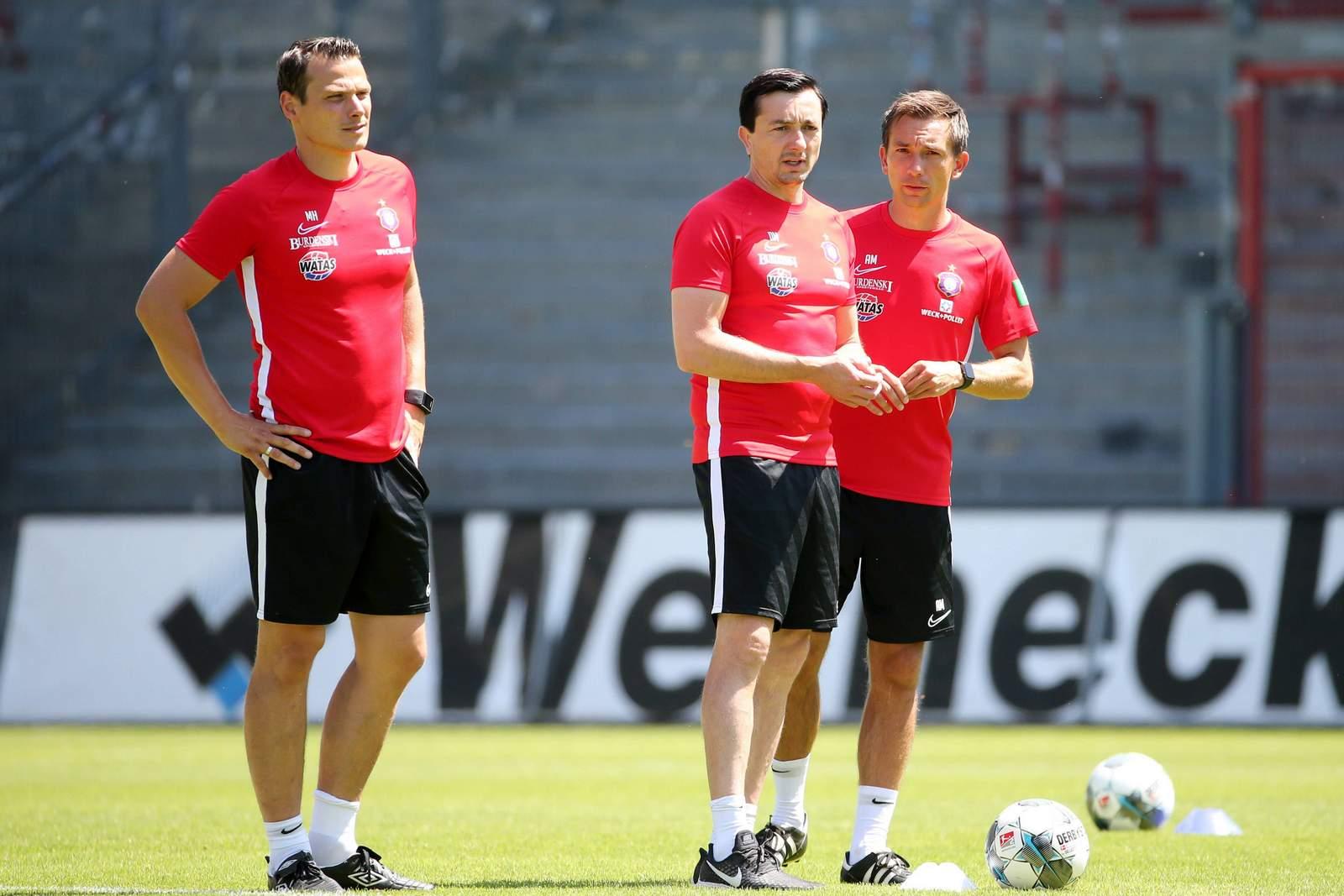 Marc Hensel, Daniel Meyer und André Meyer (v.l.n.r.).