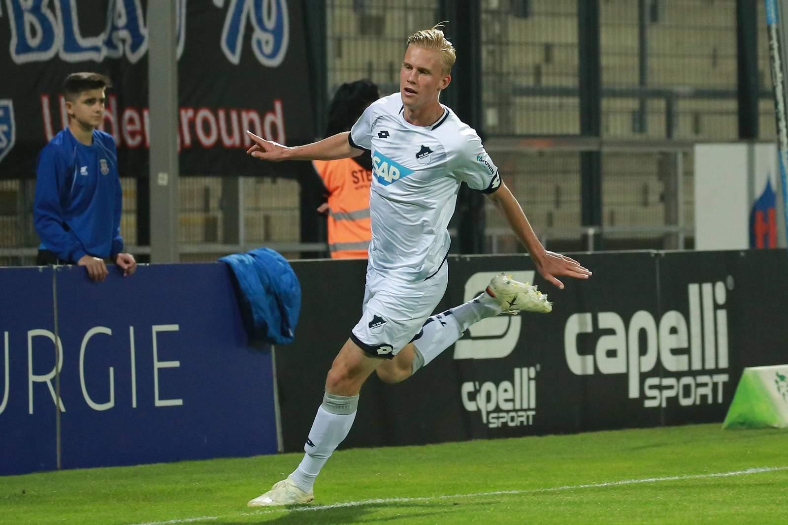 Nicolas Wähling im TSG-Dress.