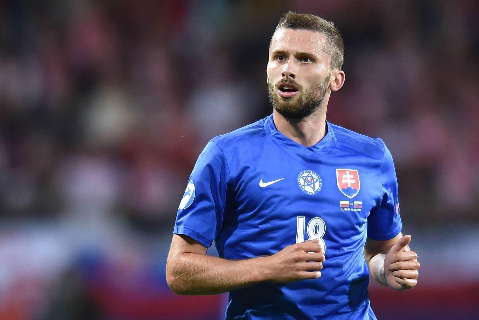 Pavol Safranko im Trikot der slowakischen U21 Nationalelf