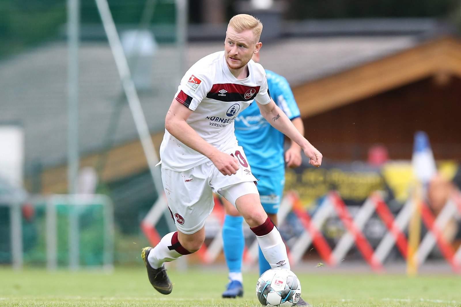 Sebastian Kerk im Testspiel gegen Saalfelden.