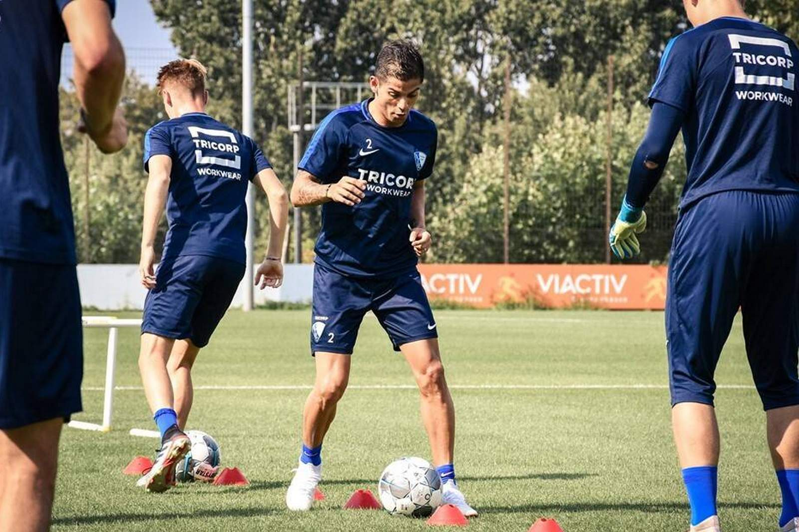 Cristian Gamboa beim Training des VfL Bochum