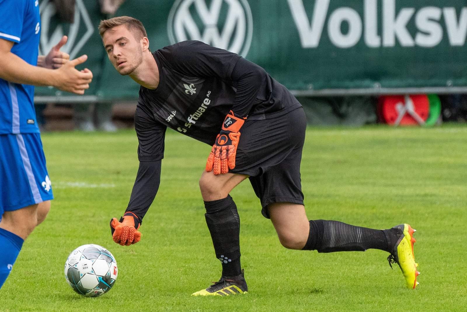 Carl Klaus im Testspiel gegen Bremen.