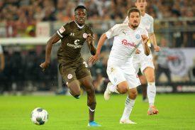 FC St. Pauli: Christian Conteh vor Verlängerung