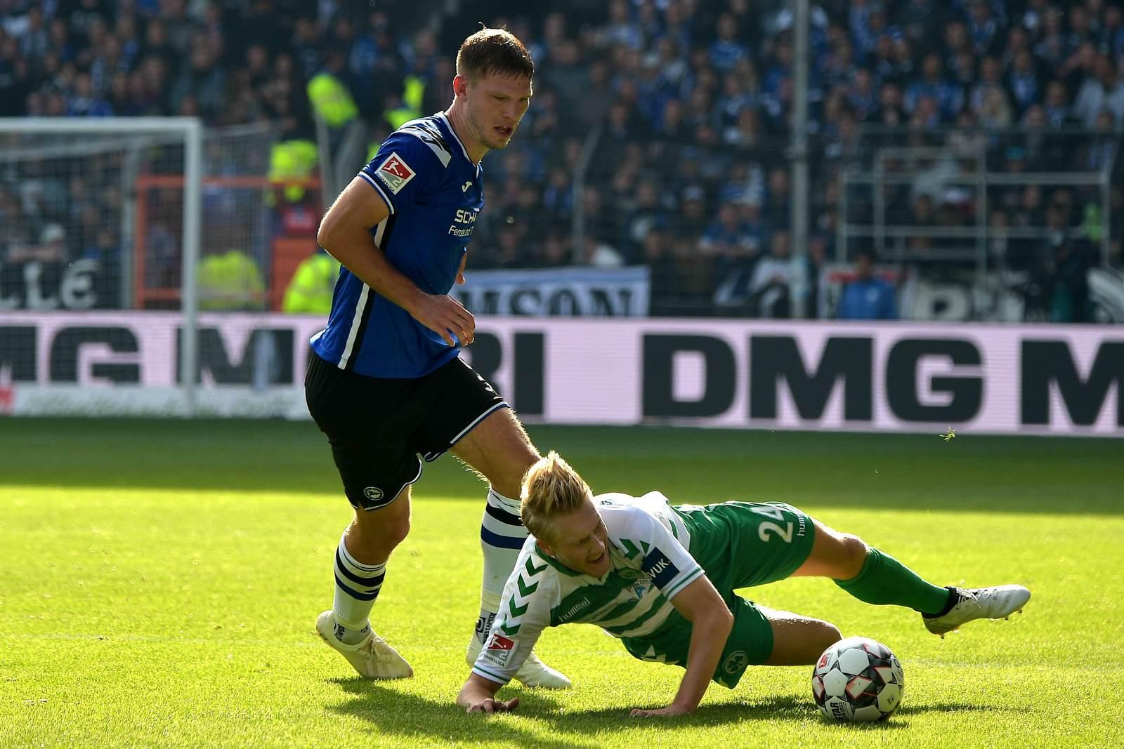 Fabian Klos gegen Maximilian Sauer