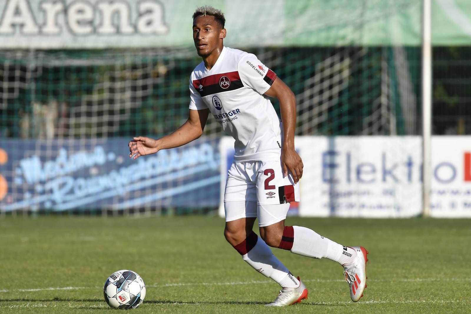 Kevin Goden vom 1. FC Nürnberg
