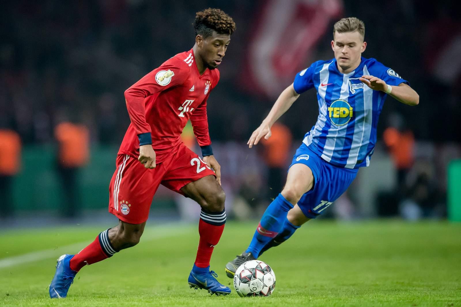 Setzt sich Coman gegen Mittelstädt durch? Jetzt auf Bayern gegen Hertha wetten