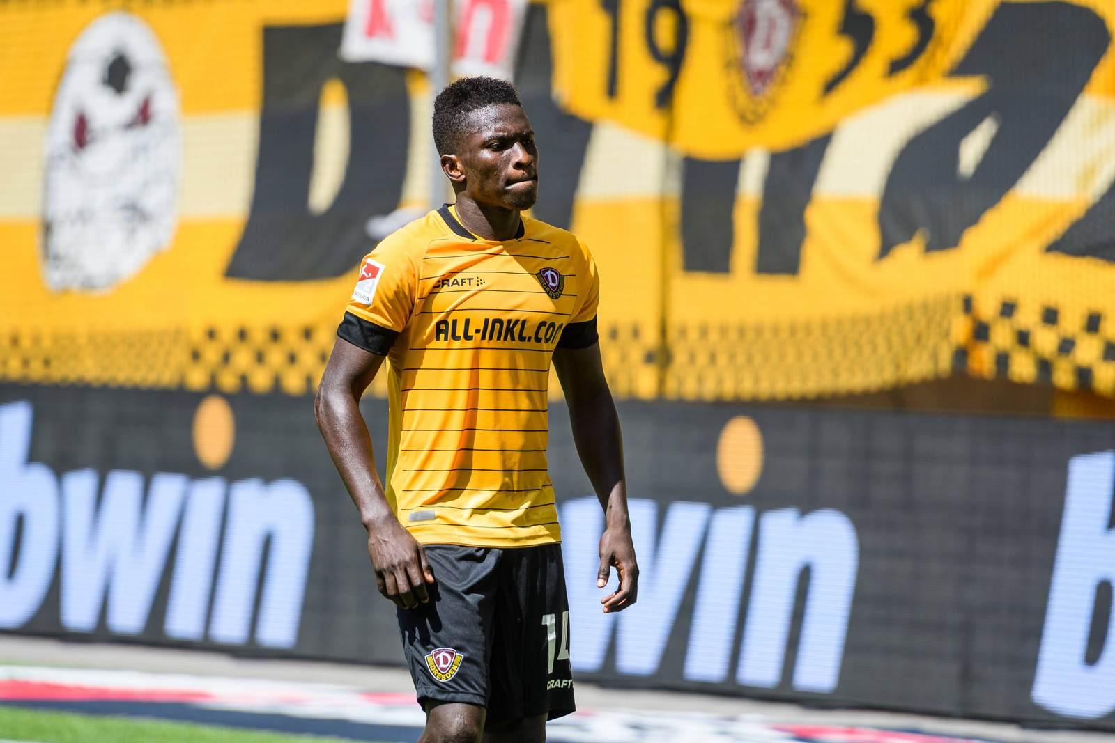 Moussa Koné enttäuscht