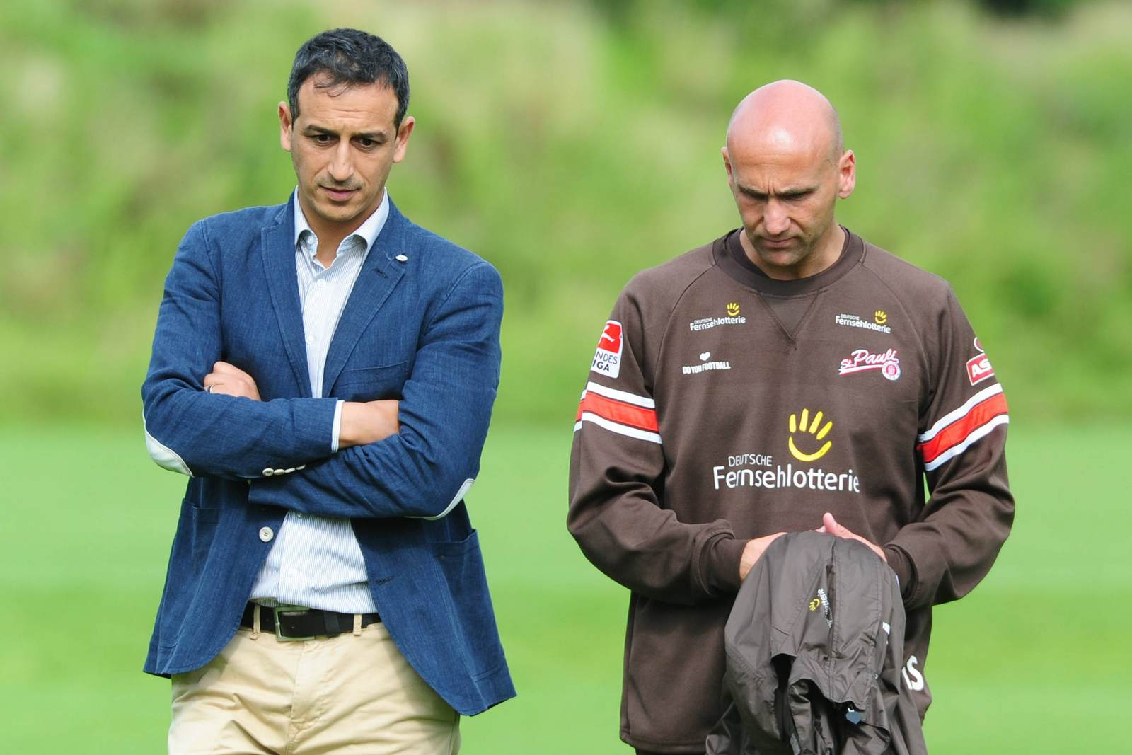 Rachid Azzouzi und Andre Schubert