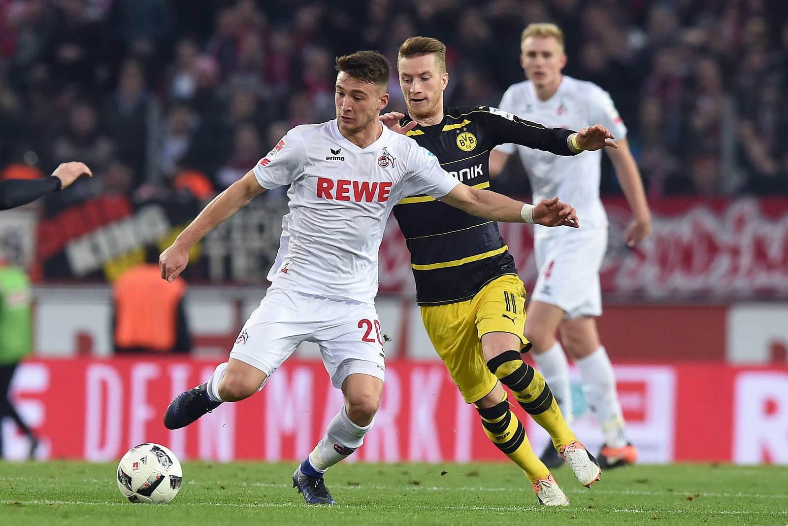 Salih Özcan gegen Marco Reus