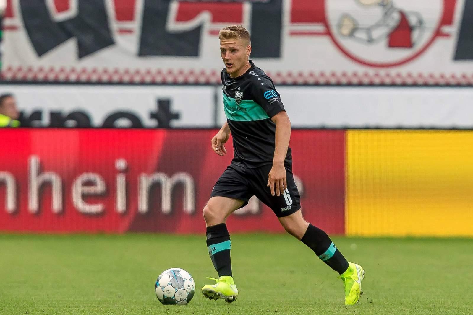 Santiago Ascacibar gegen Heidenheim.