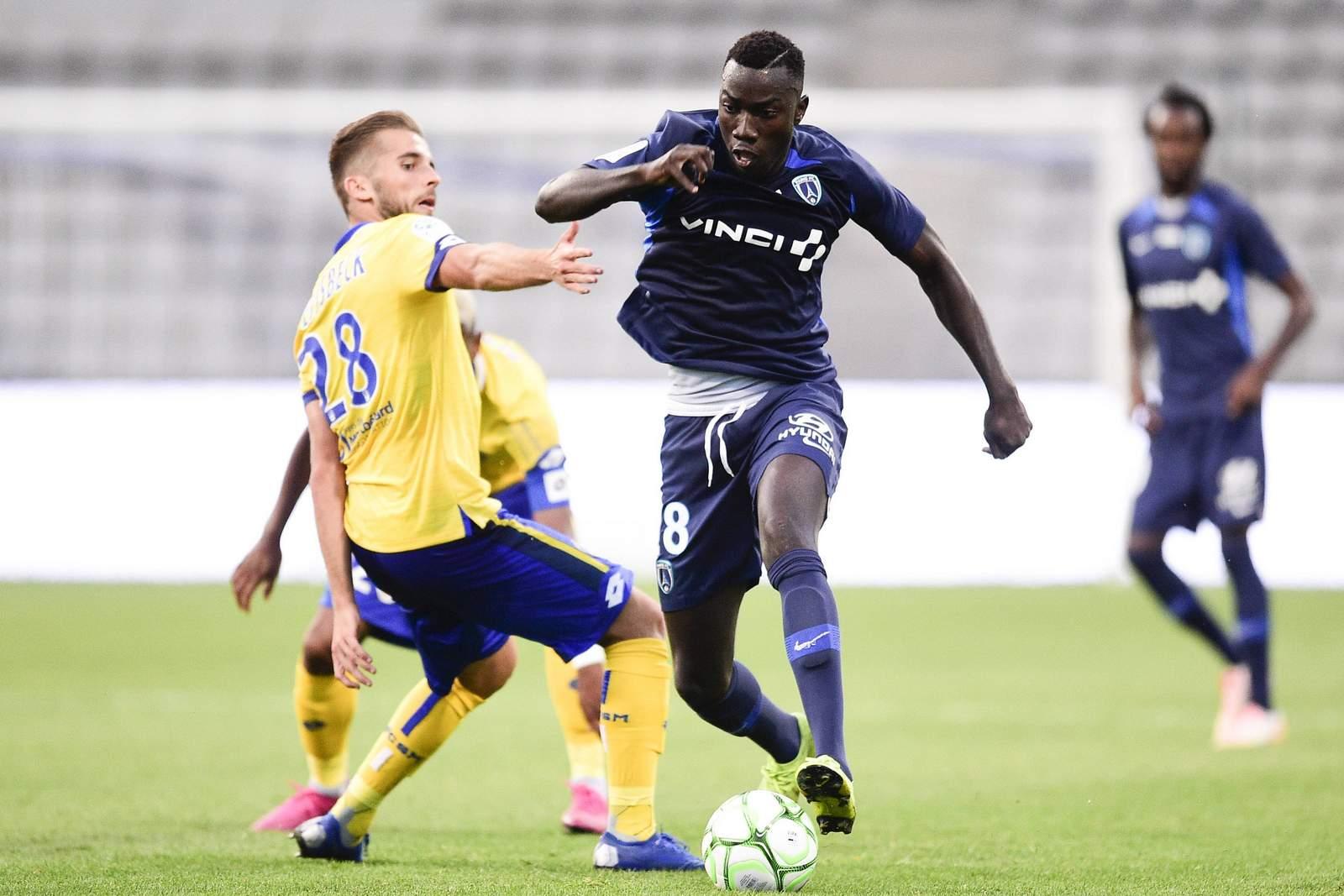 Silas Wamangituka von Paris FC