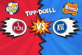Tipp-Duell: 1. FC Nürnberg gegen KSC