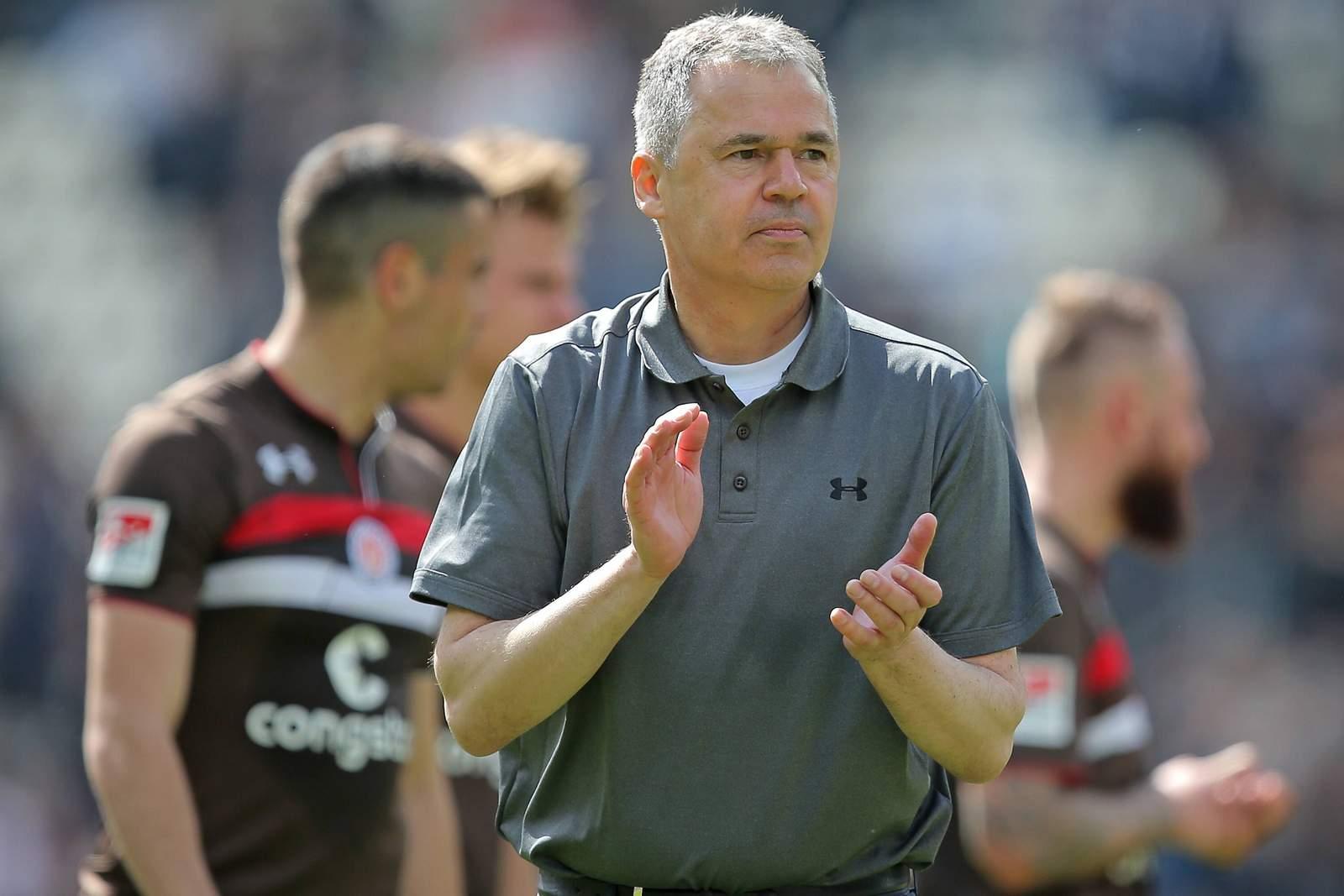Andreas Rettig beim FC St. Pauli