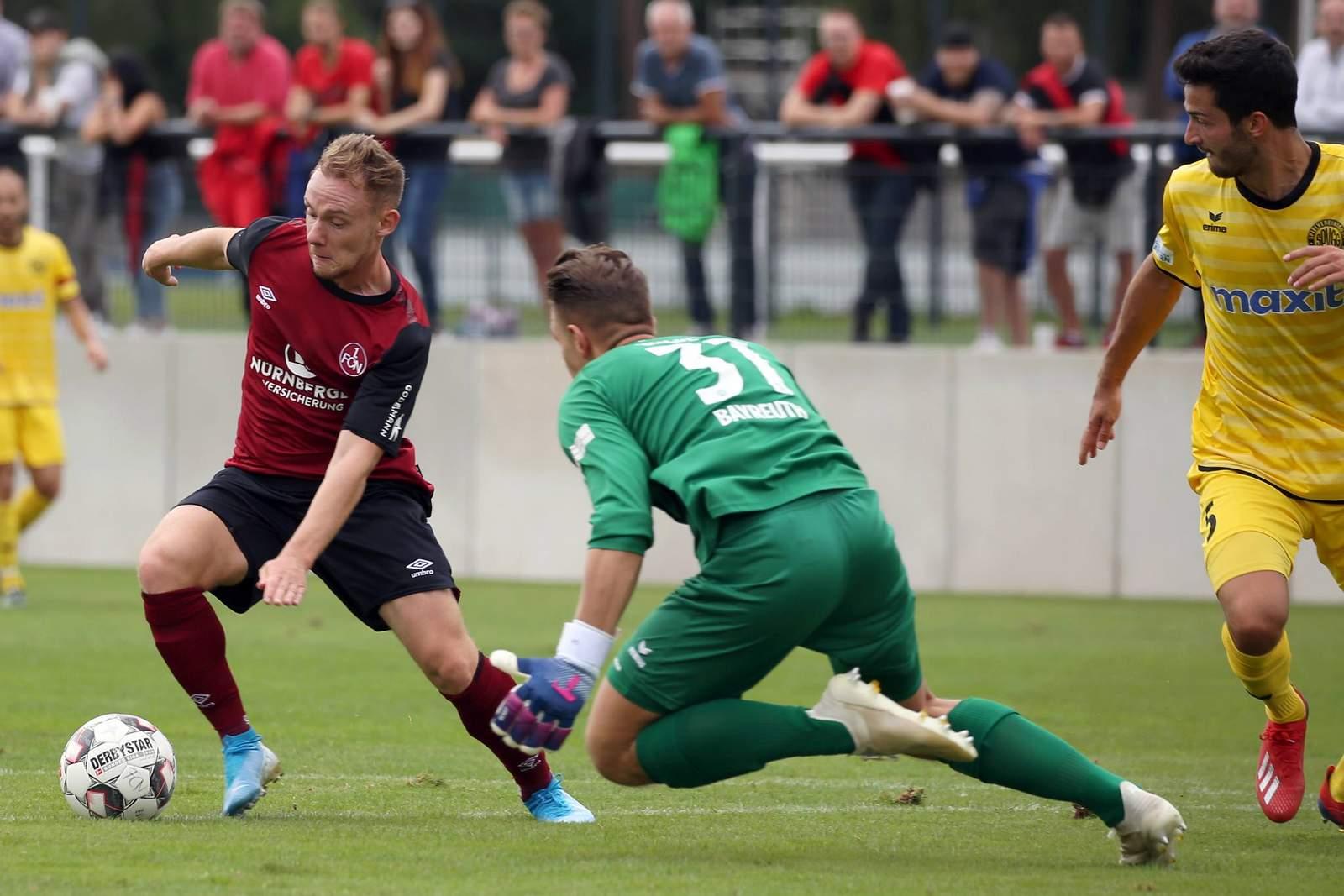 Federico Palacios beim Spiel Nürnberg U23 gegen Bayreuth