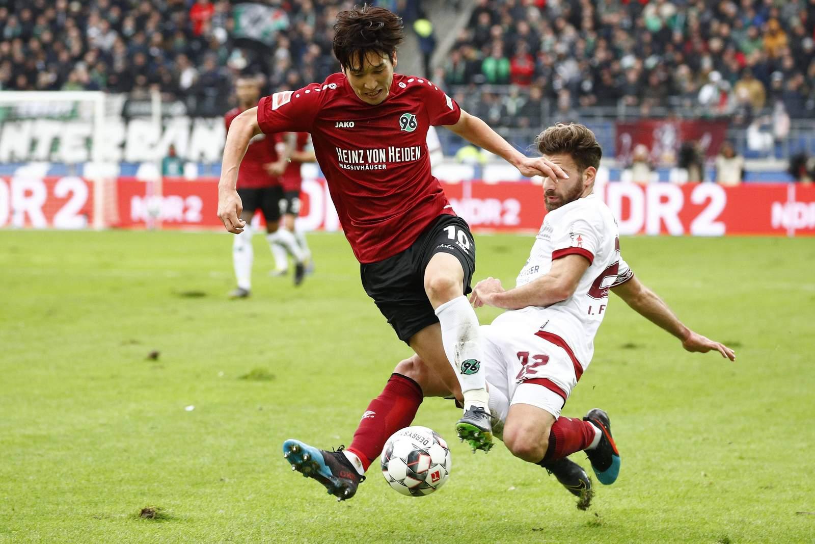 Setzt sich Haraguchi wieder gegen Valentini durch? Unser Tipp: Nürnberg gewinnt gegen Hannover