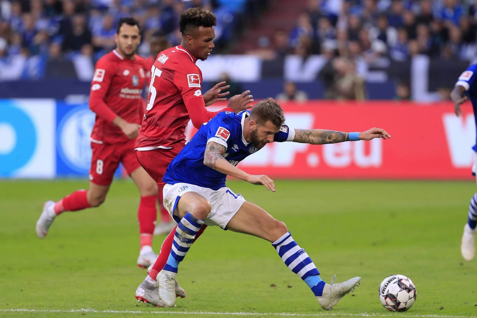 Setzt sich Burgstaller wieder durch? Jetzt auf Schalke gegen Mainz wetten