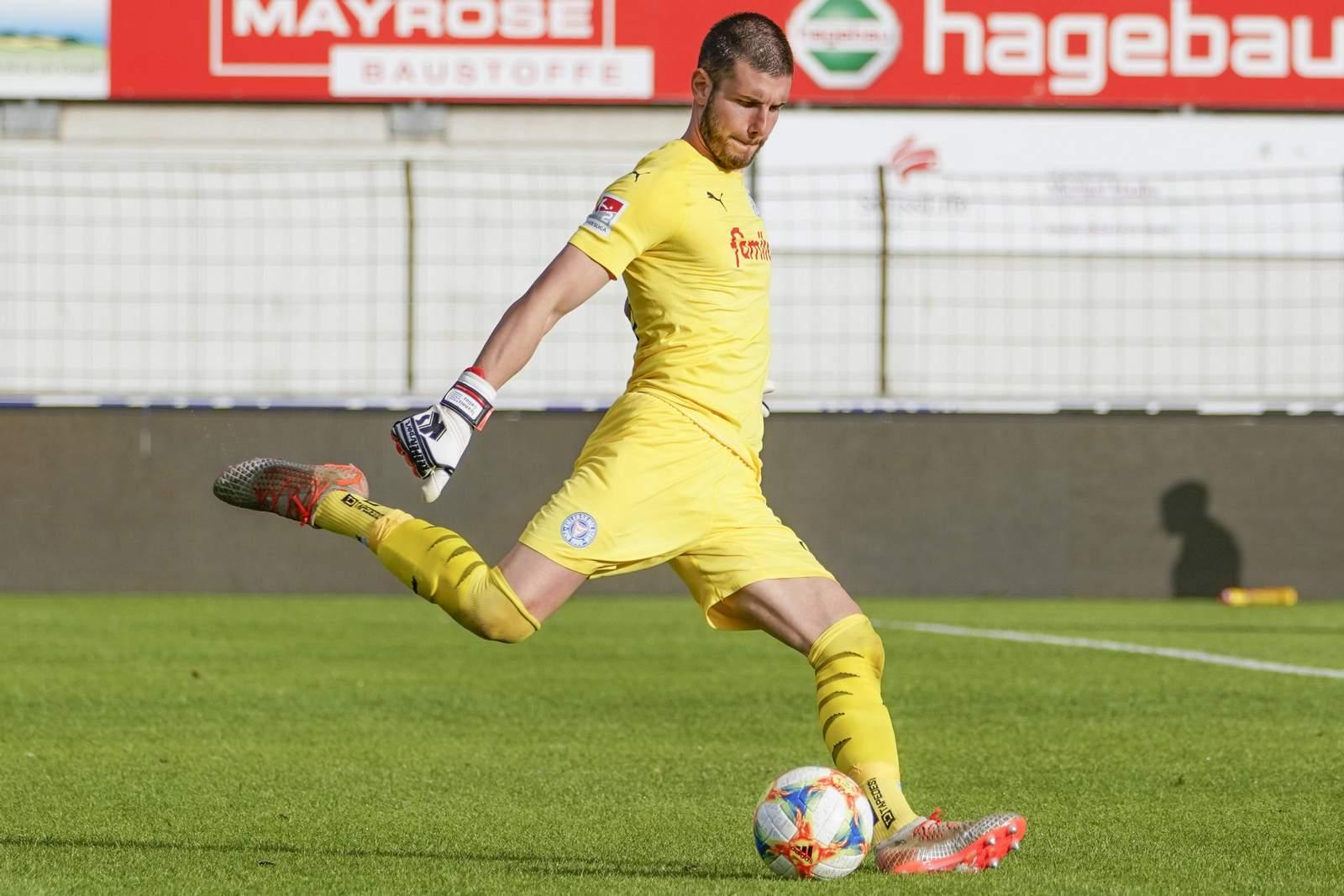 Ioannis Gelios im Test gegen Meppen.