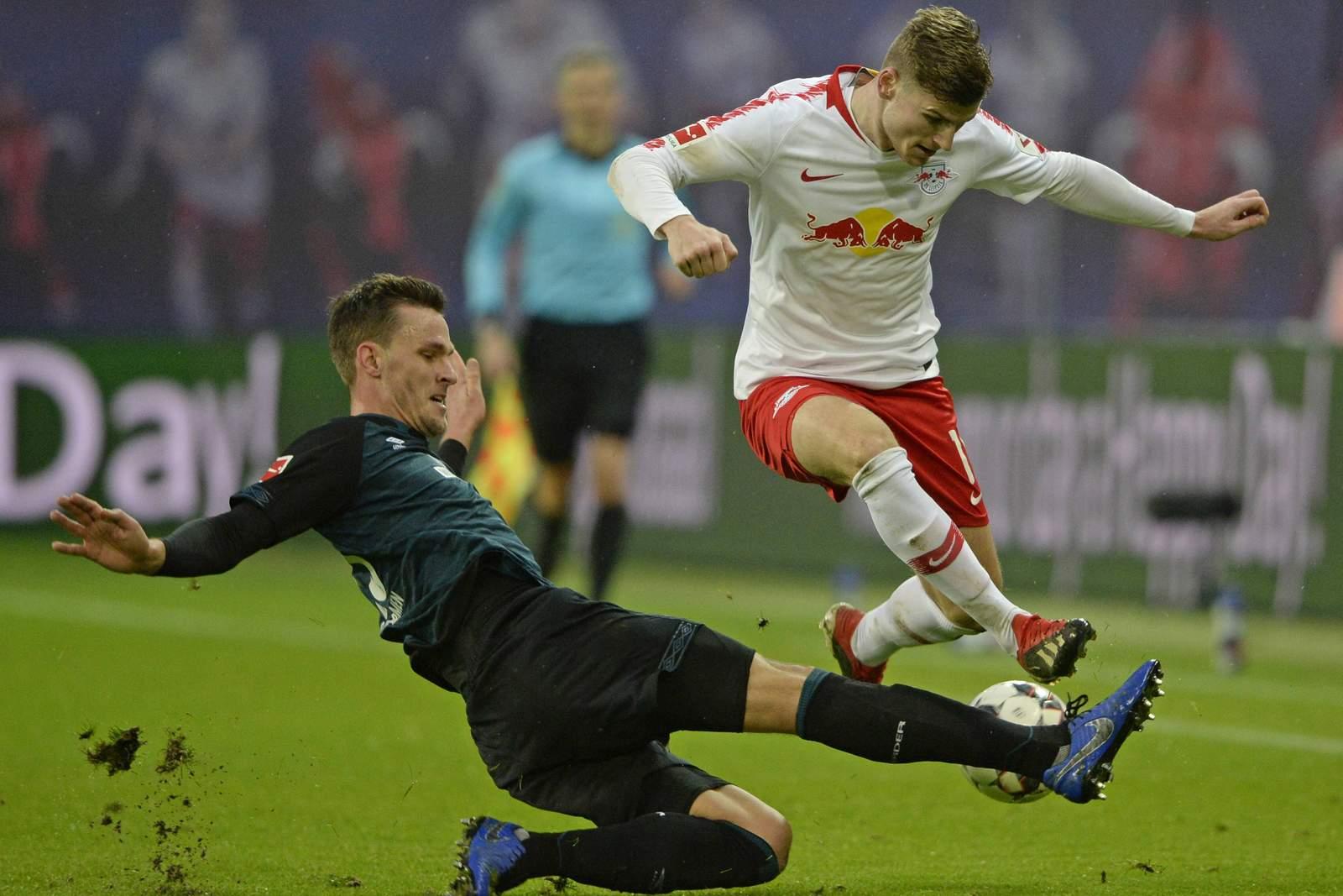 Setzt sich Werner wieder gegen Langkamp durch? Unser Tipp: Red Bull Leipzig gewinnt gegen Bremen