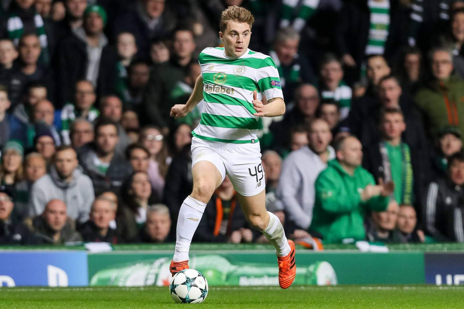 James Forrest von Celtic Glasgow