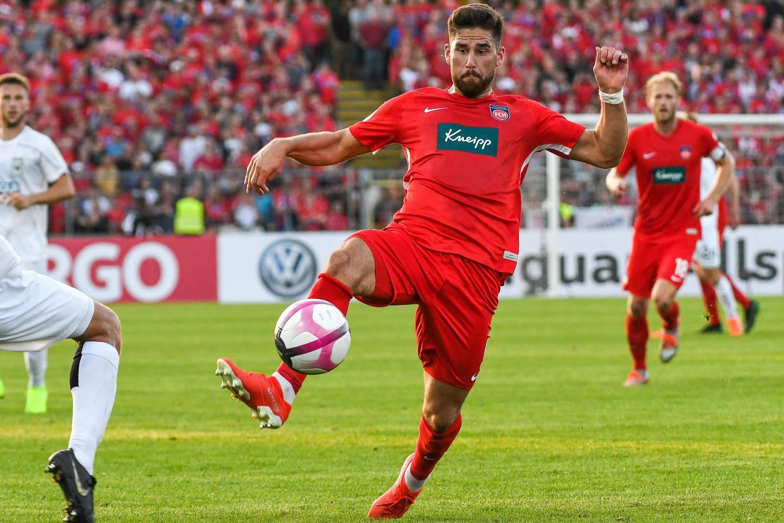 Stefan Schimmer vom 1. FC Heidenheim