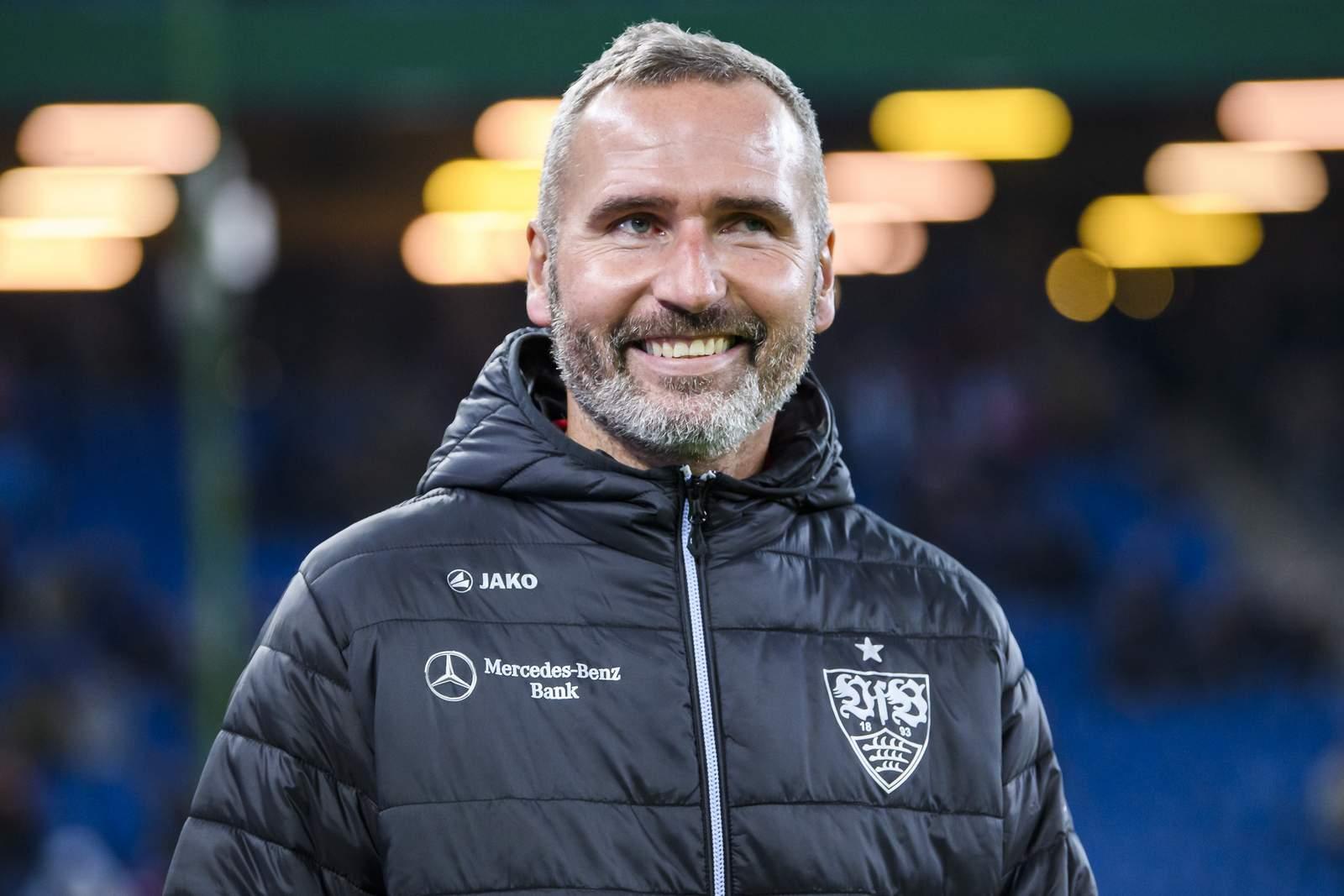 Tim Walter vom VfB Stuttgart