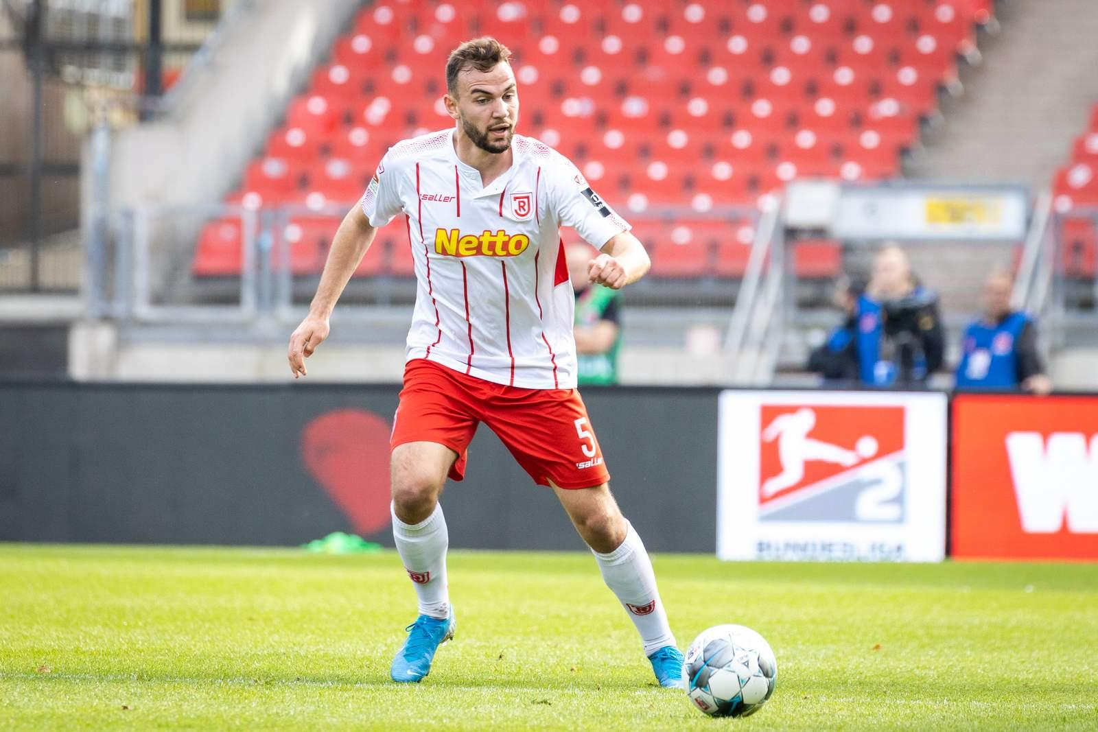 Benedikt Gimber im Spiel gegen Nürnberg.