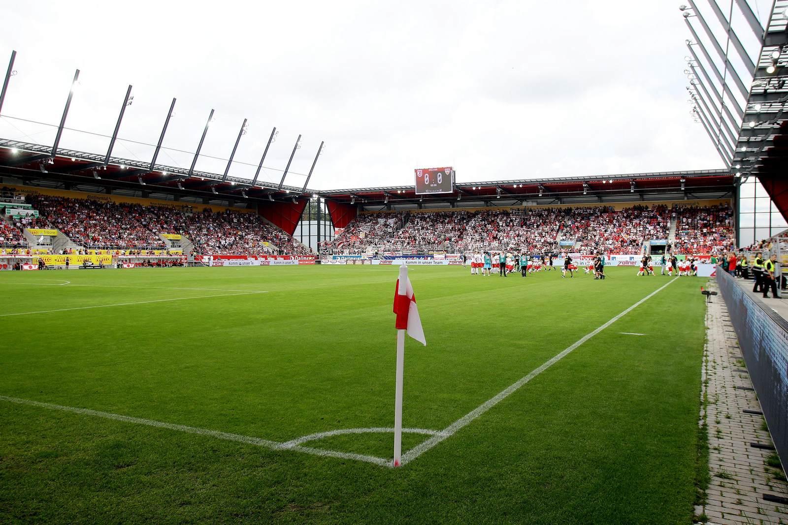 Das Stadion des SSV Jahn Regensburg