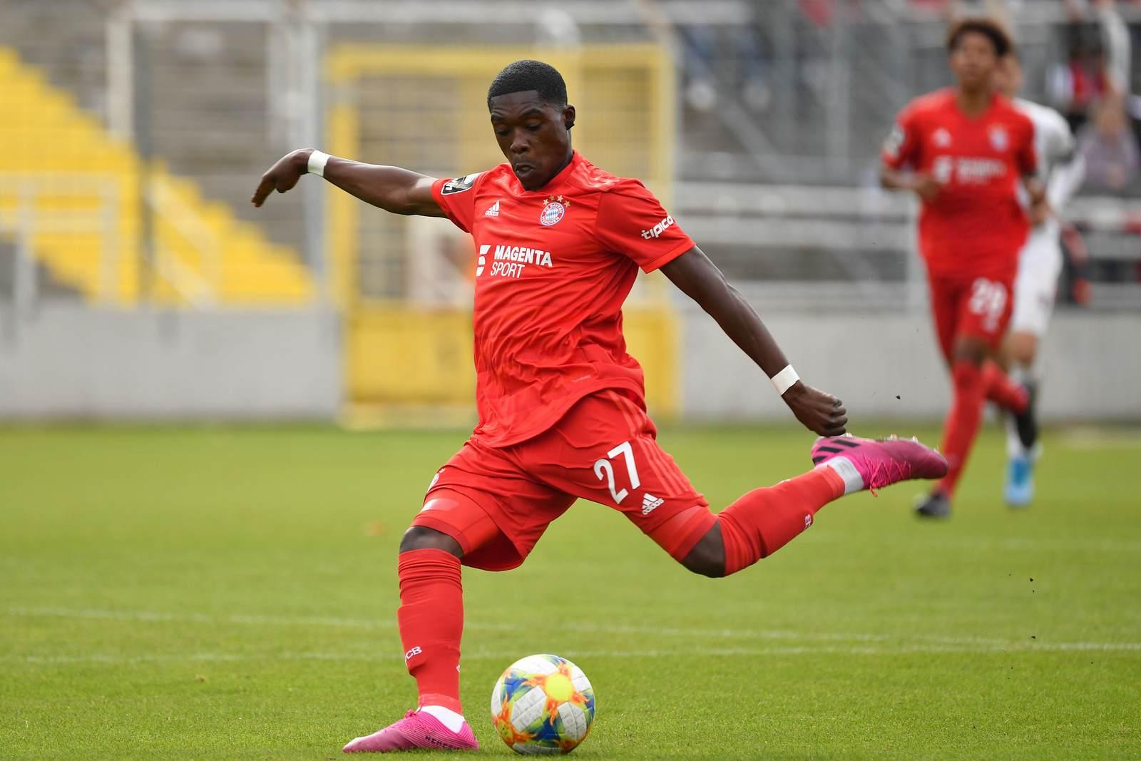 Derrick Köhn bei der FC Bayern U23