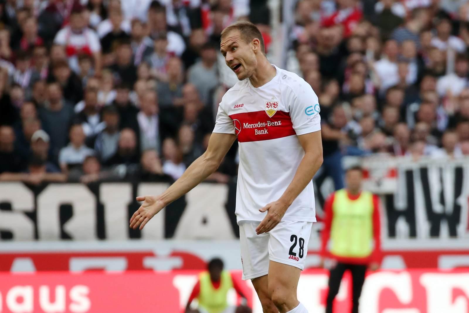 Holger Badstuber vom VfB Stuttgart